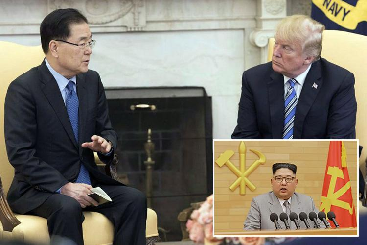 Donald Trump blindsides his own staff and the Pentagon with 'surprise' decision to meet despot Kim Jong-un