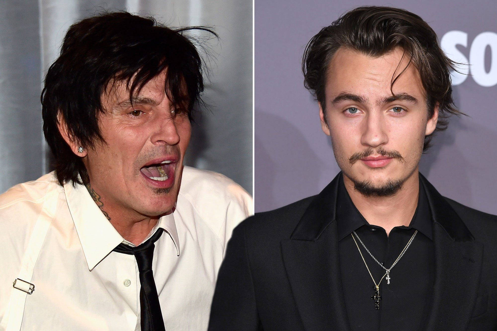Tommy Lee and his son brawled over a tweet