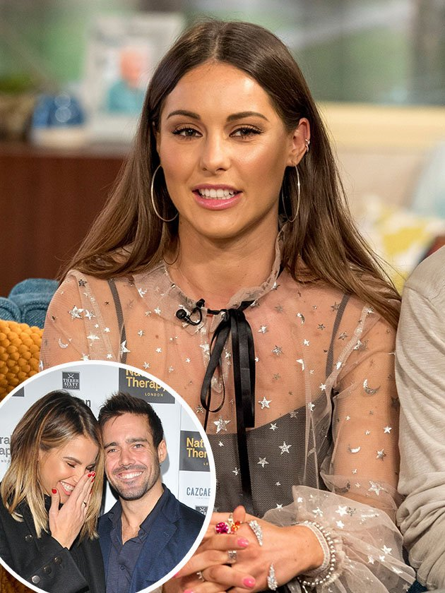 Louise Thompson throws shade at ex Spencer Matthews over his proposal