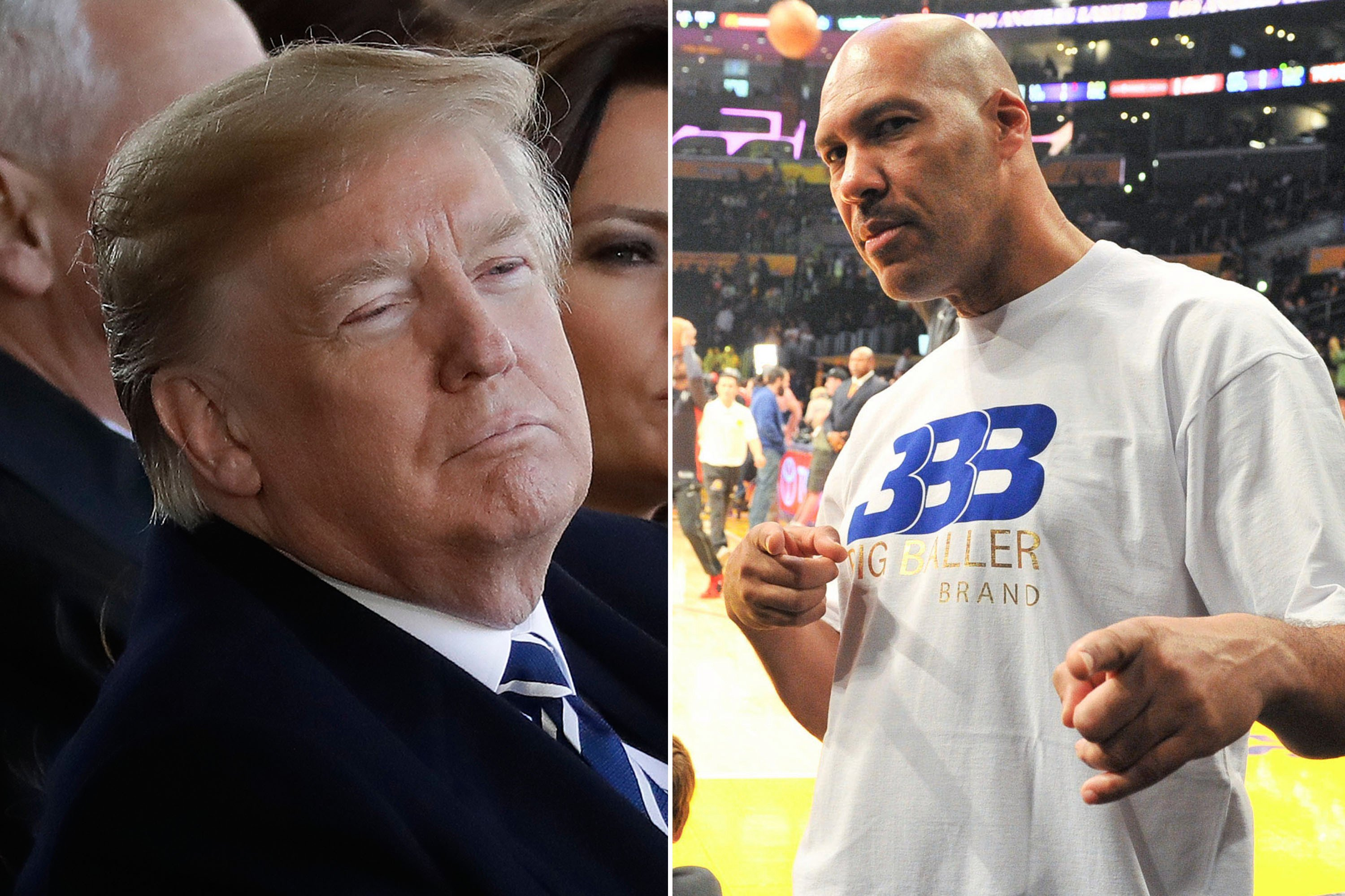 LaVar Ball revives Trump feud after damning report