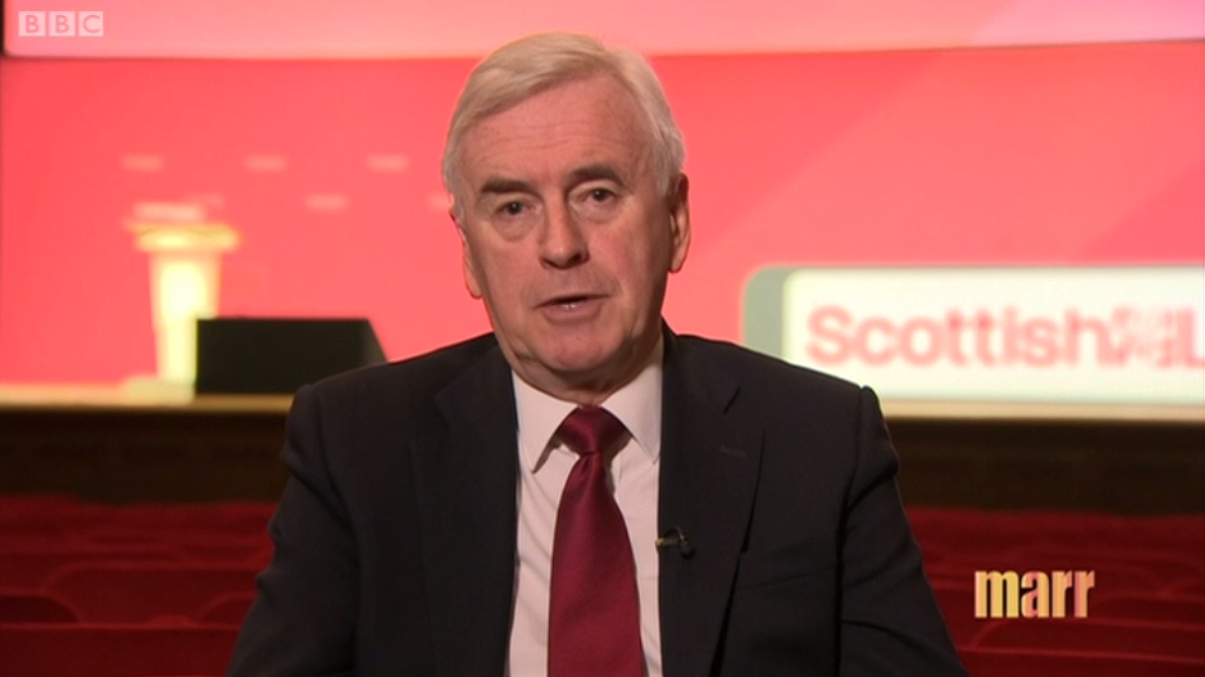 Labour's John McDonnell FINALLY says he will stop appearing on Russian state TV channel Russia Today after spy poisoning