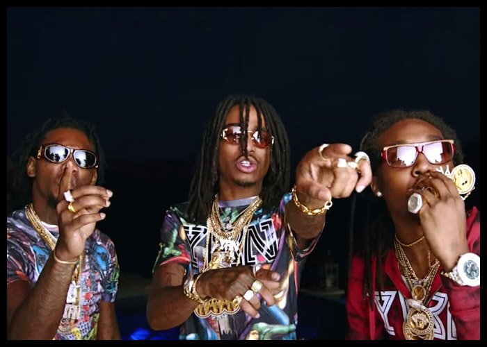 Migos Teams With Drake For 'Walk It Talk It' Video