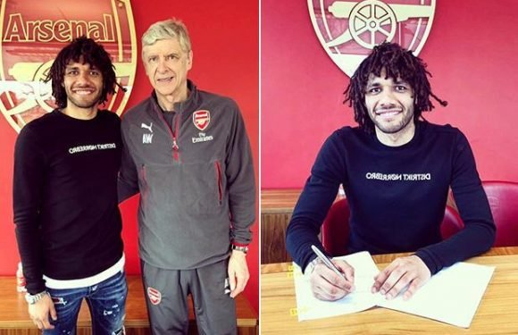 Arsenal news: Mohamed Elneny signs long-term new Gunners deal after solid season