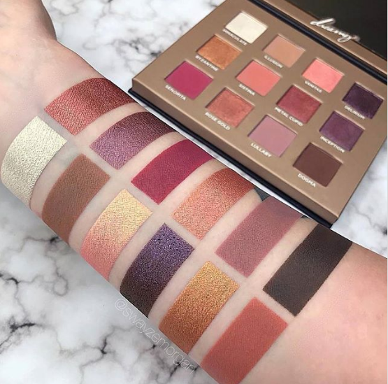 This sparkly eyeshadow palette sold out in just an HOUR… and we've never even heard of the brand