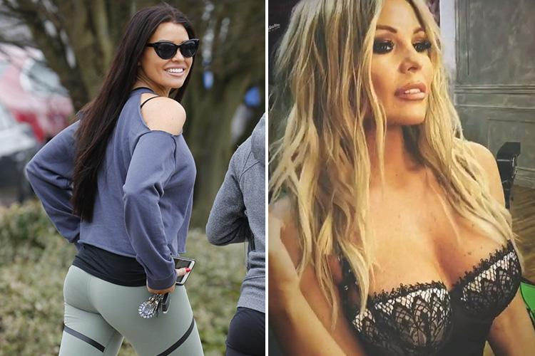 Jessica Wright goes back to her roots after morphing into Chloe Sims for a day