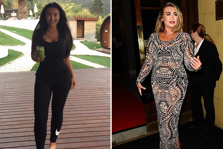 Lauren Goodger defends juice diet after facing criticism over one stone weight loss in just 21 days