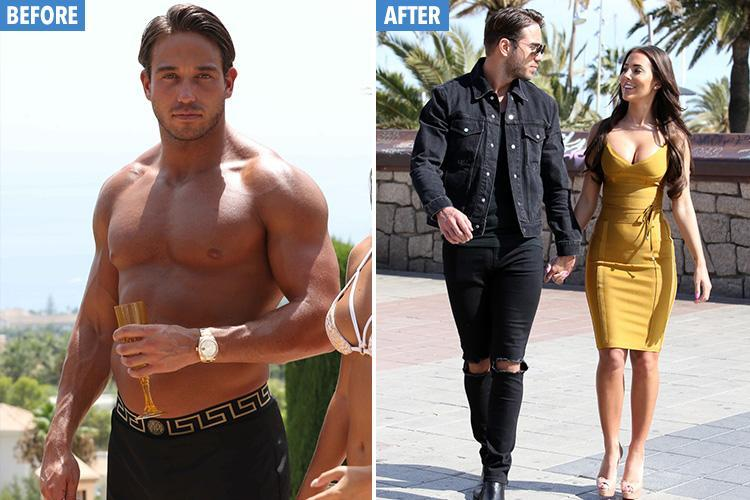Towie's James Lock reveals he's lost two stone after girlfriend taunted him with 'grandad' jibes