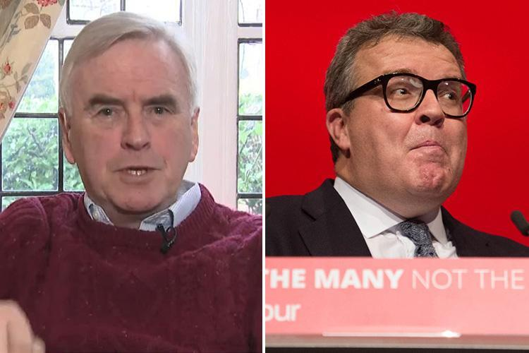 Tom Watson faces more pressure to give back £500,000 from Max Mosley after John McDonnell blasted ex-F1 boss' views on paying migrants to go home