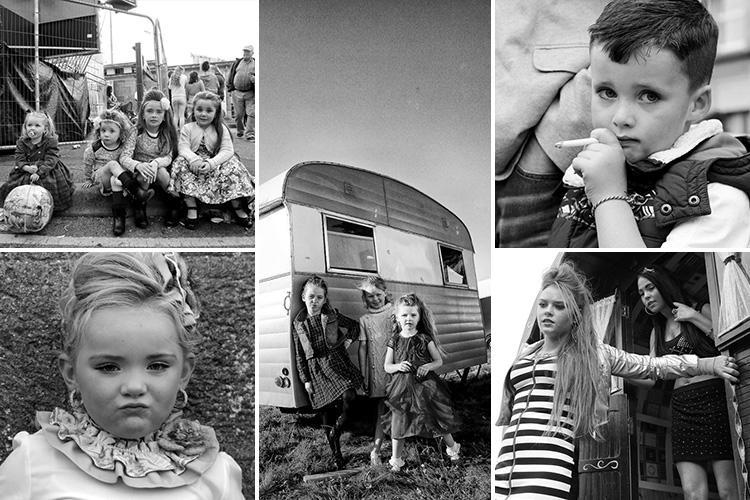 Inside the world of traveller kids as rare black and white pics reveal life on the road
