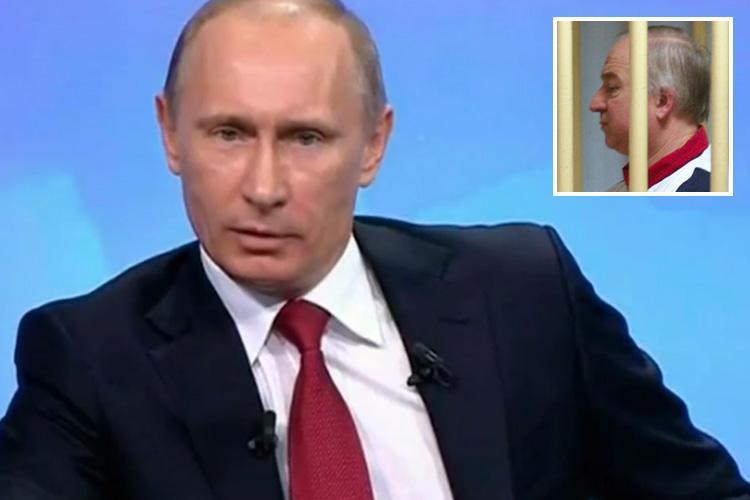 Chilling video clip of Vladimir Putin threat to 'CHOKE traitors' emerges after 'attack' on Russian ex-spy Sergei Skripal