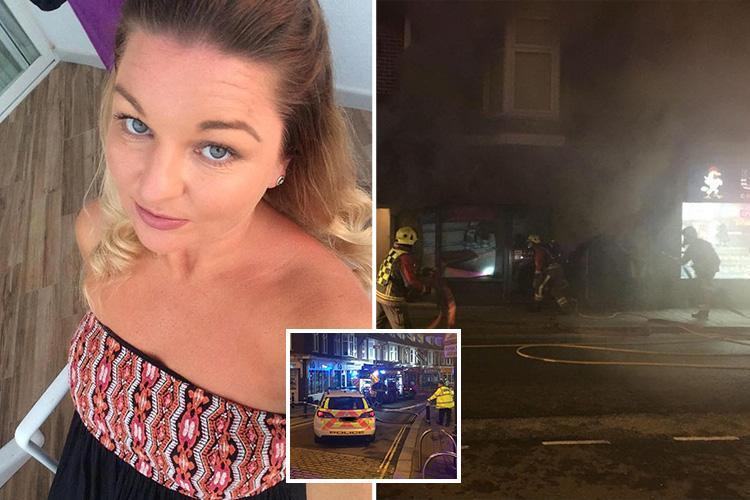 Woman saves herself and two others at salon as tanning bed catches fire