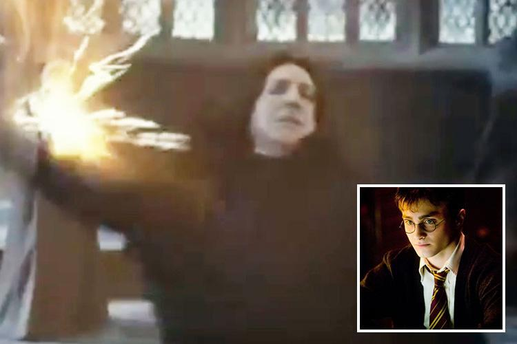 Harry Potter fans spot a clue that Professor Snape WASN'T all bad – but did you see it?