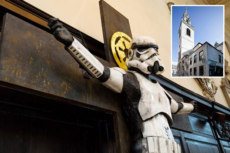 Christians force removal of 'offensive' crucified stormtrooper from church exhibition