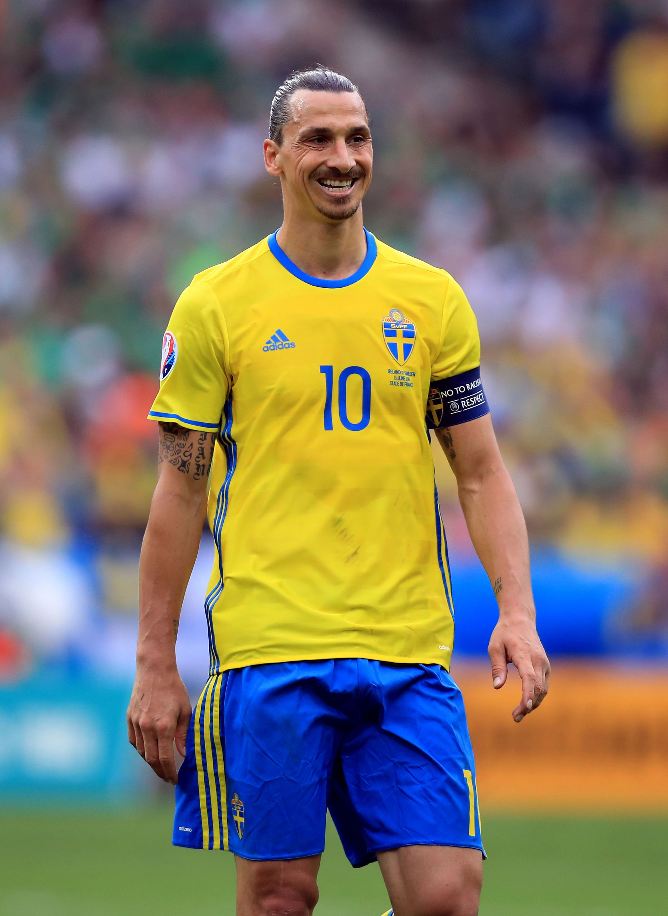Manchester United striker Zlatan Ibrahimovic hints at sensational World Cup comeback with Sweden