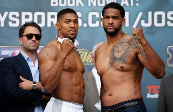 Joshua vs Parker: AJ may be forced to fight Dominic Breazeale again as his next opponent instead of Deontay Wilder