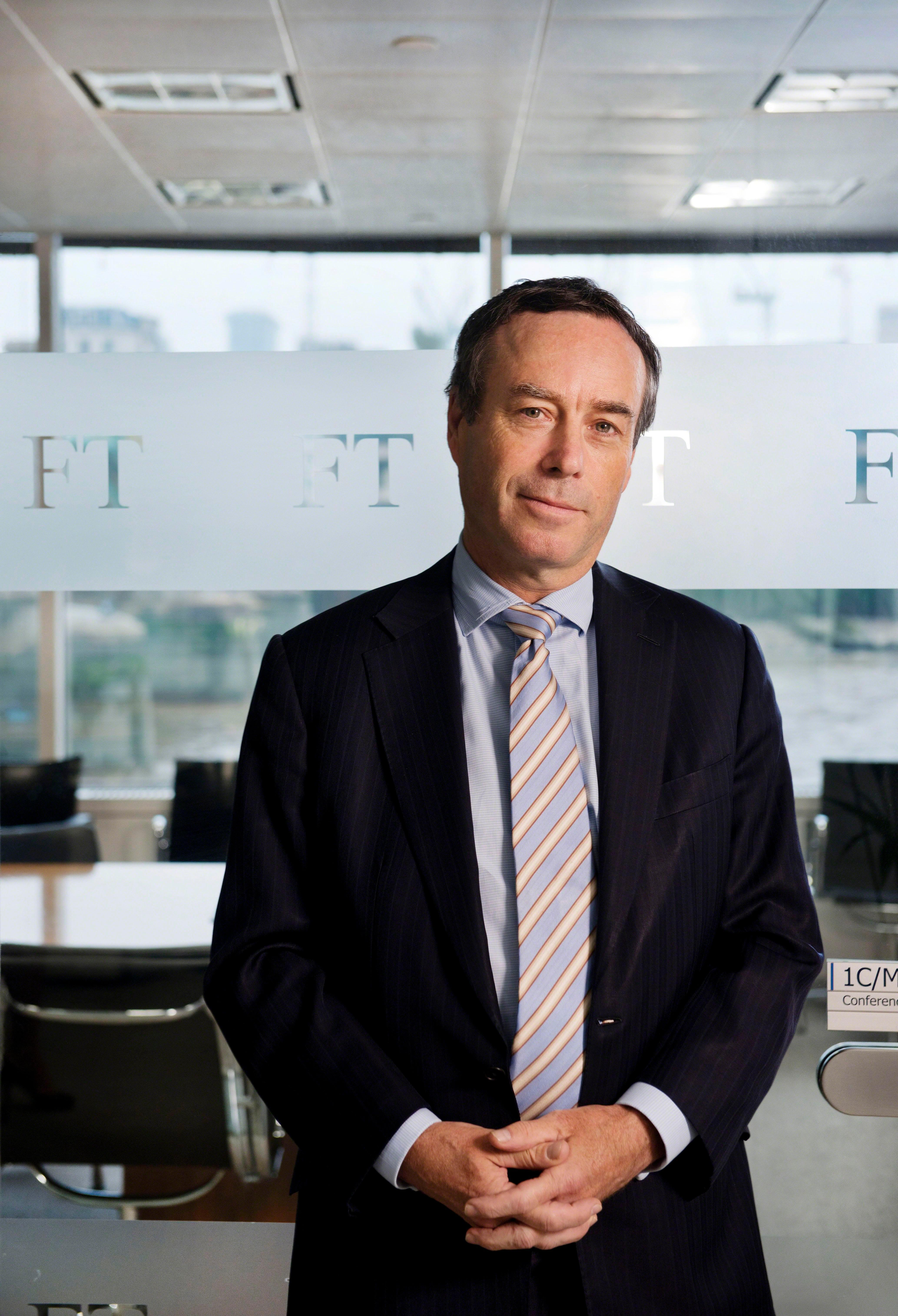 Financial Times editor Lionel Barber's Twitter account HACKED with malware messages sent to followers