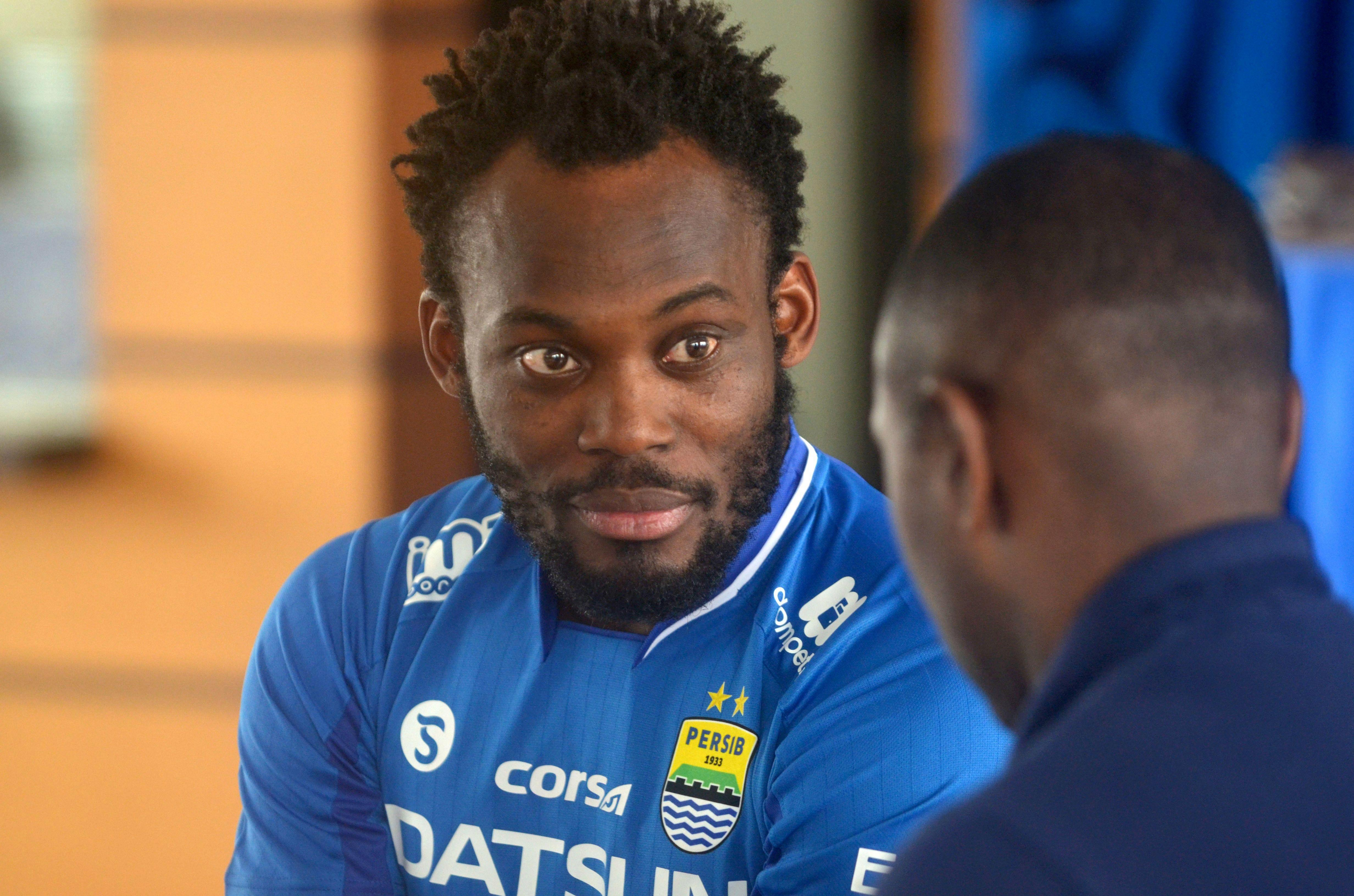 Chelsea hero Michael Essien suffers latest snub after being released by Persib Bandung in Indonesian minnow league