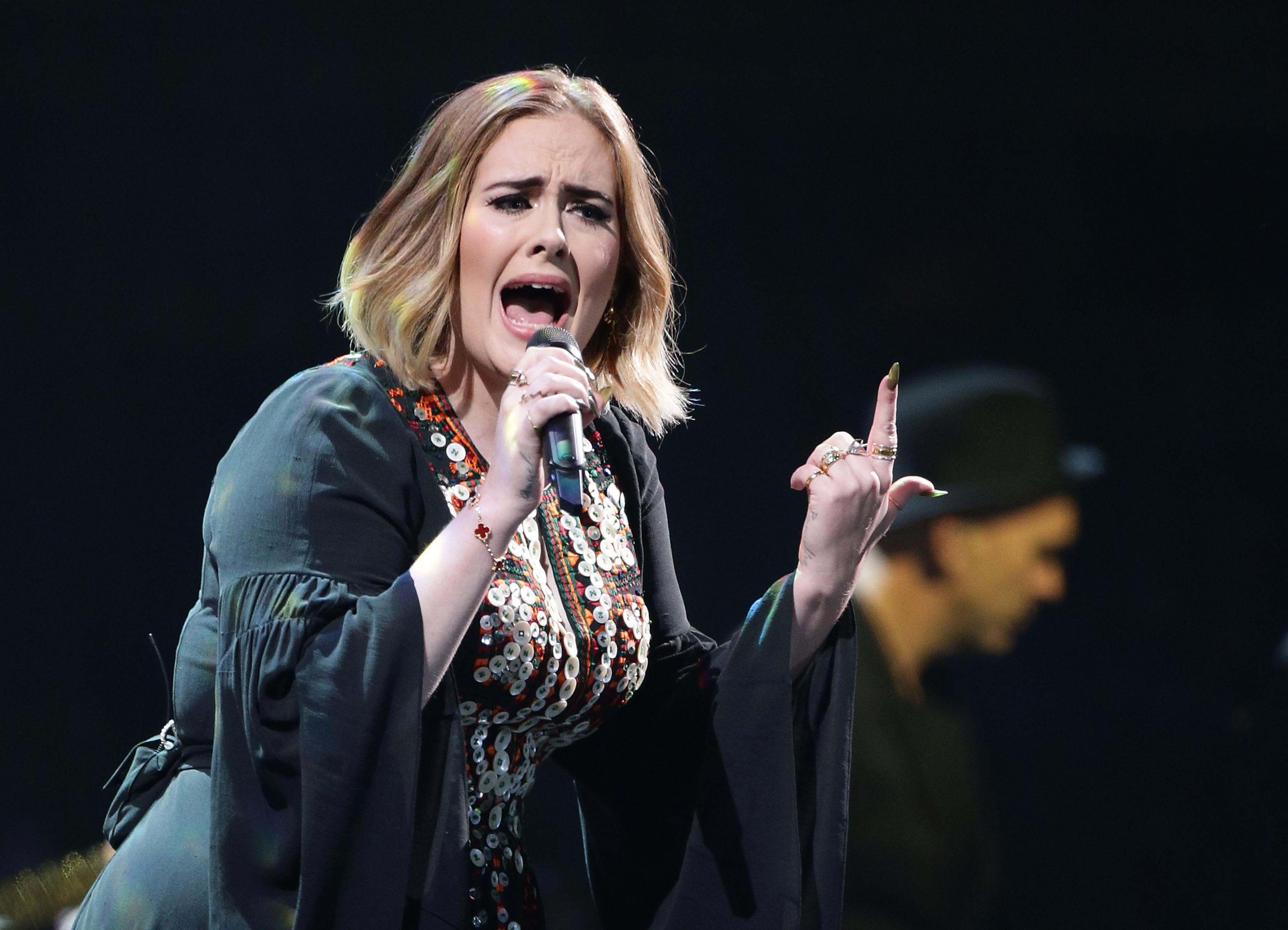 Adele puts Las Vegas residency plans 'on hold over worries hot, dry and sandy winds will ruin voice'
