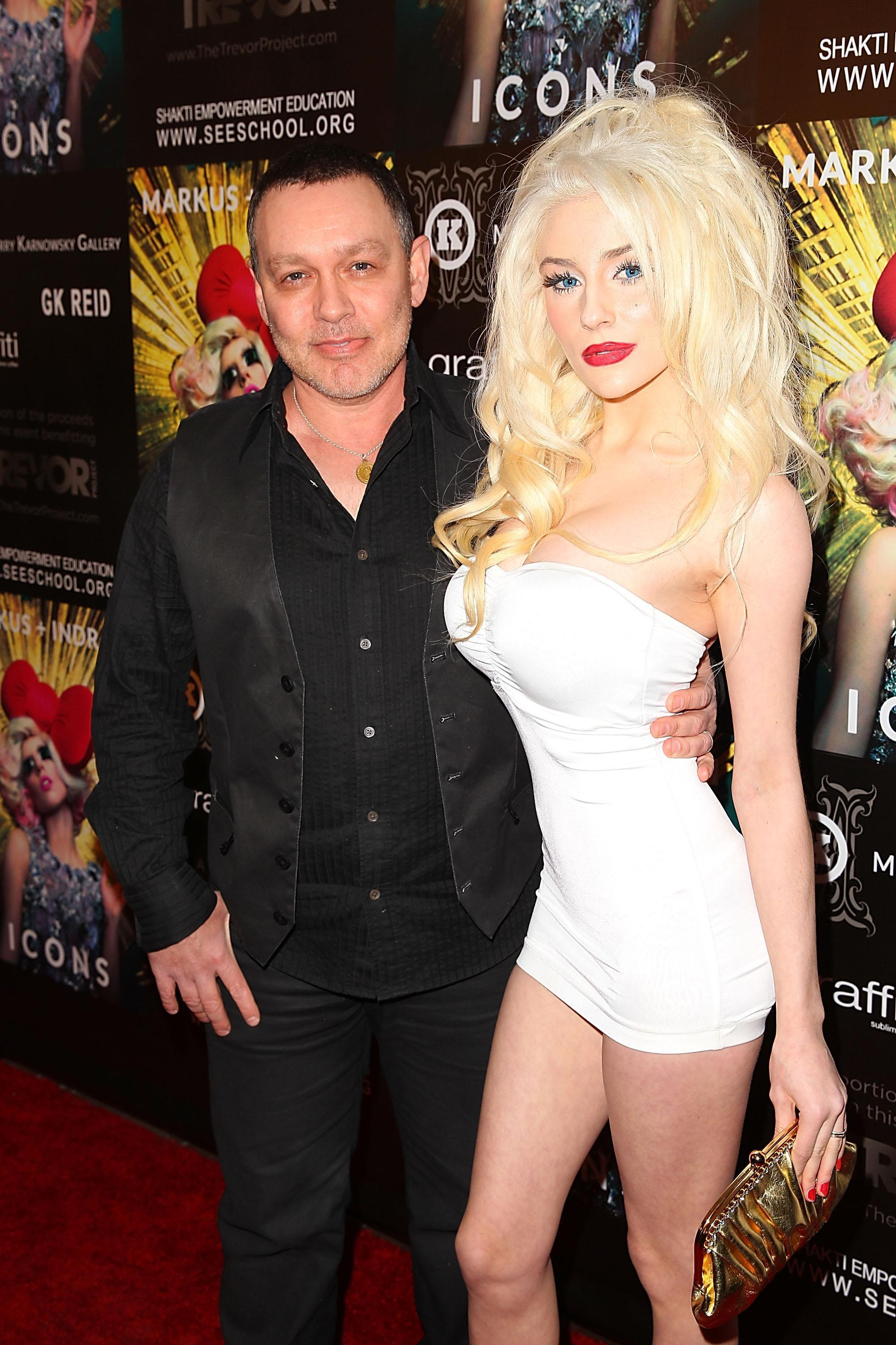 Courtney Stodden, 23, finally files for divorce from 57 year old Doug Hutchinson one year after announcing split
