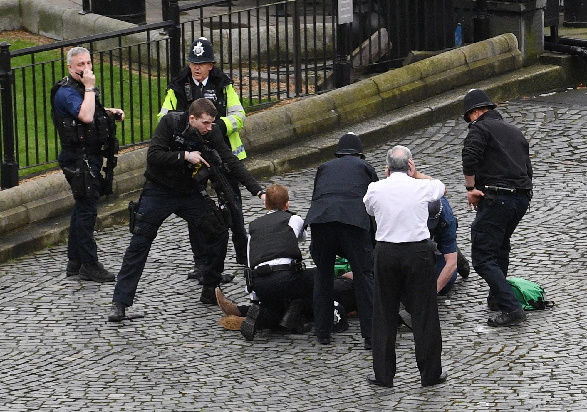 412 people have been arrested on terror related charges in the past year