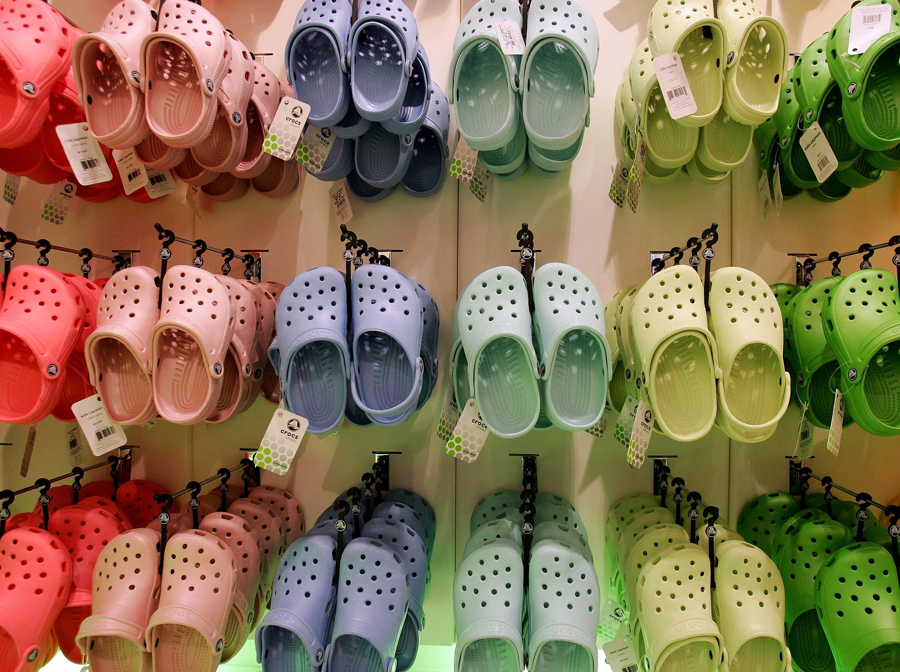 Brits can get Crocs on the cheap as judges rule shoe's distinctive design CAN be copied by other firms paving way for flood of knock-offs