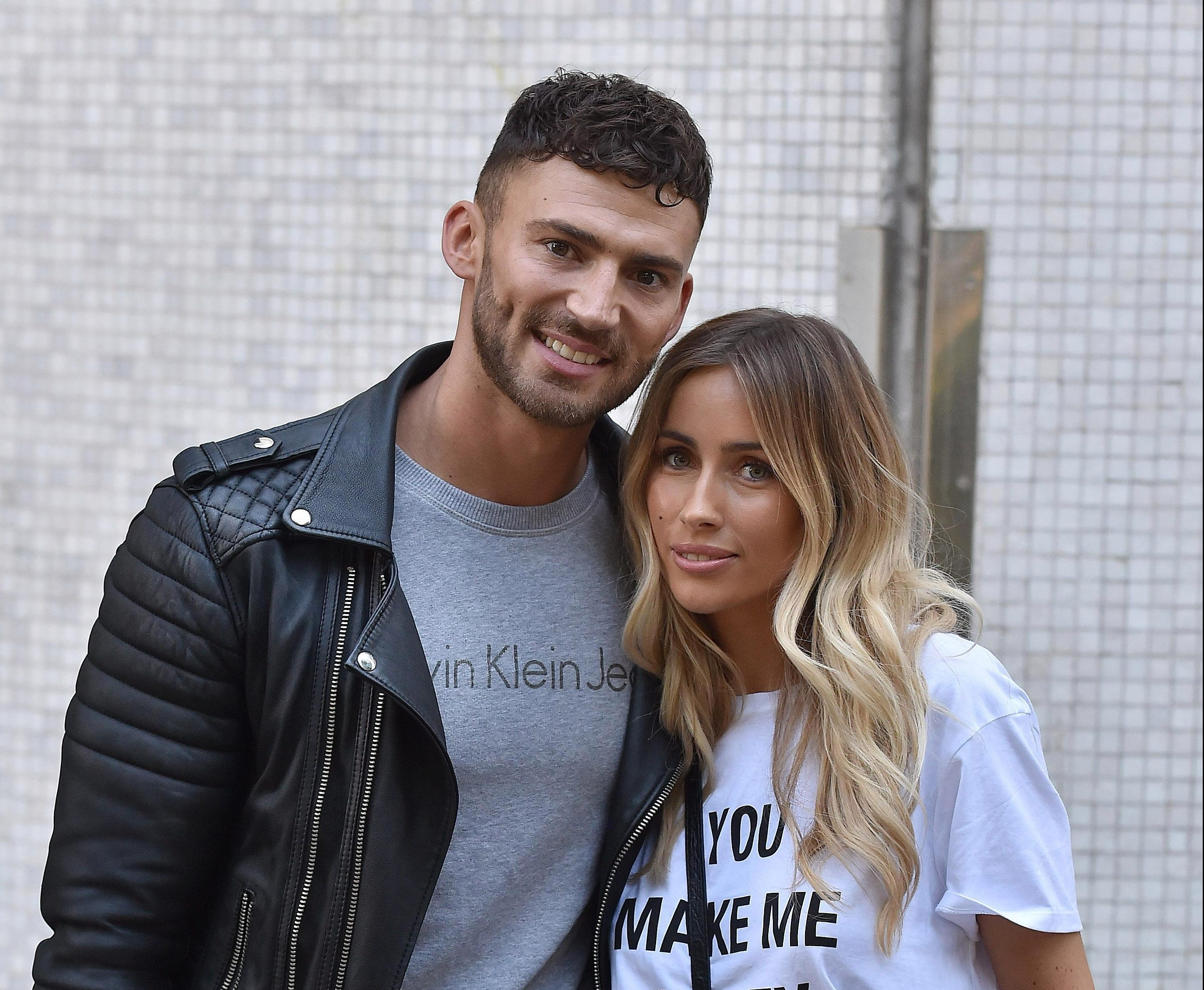Danielle Fogarty can't wait for fiance Jake Quickenden to end Dancing on Ice sex ban