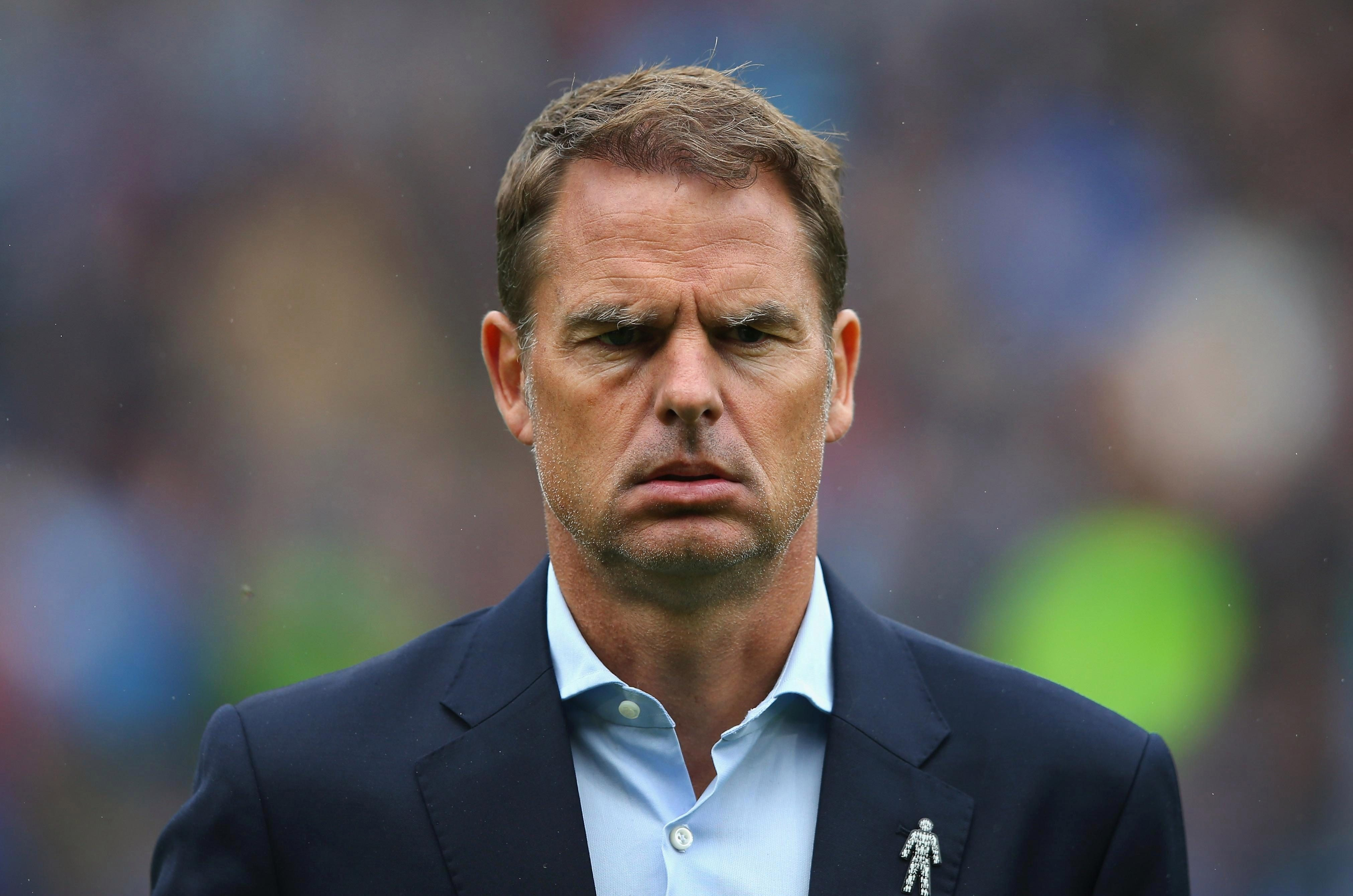 Ex-Crystal Palace boss Frank de Boer claims he was 'stabbed in the back' during his time at Selhurst Park
