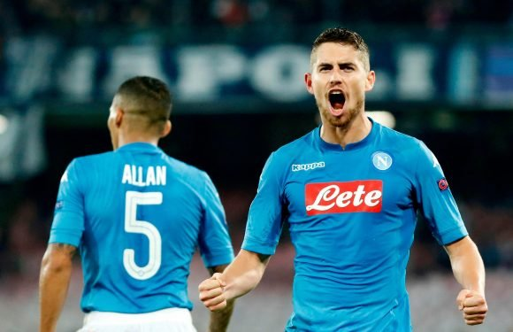 Manchester United, Arsenal and Liverpool in huge boost with target Jorginho's agent hinting at Napoli exit
