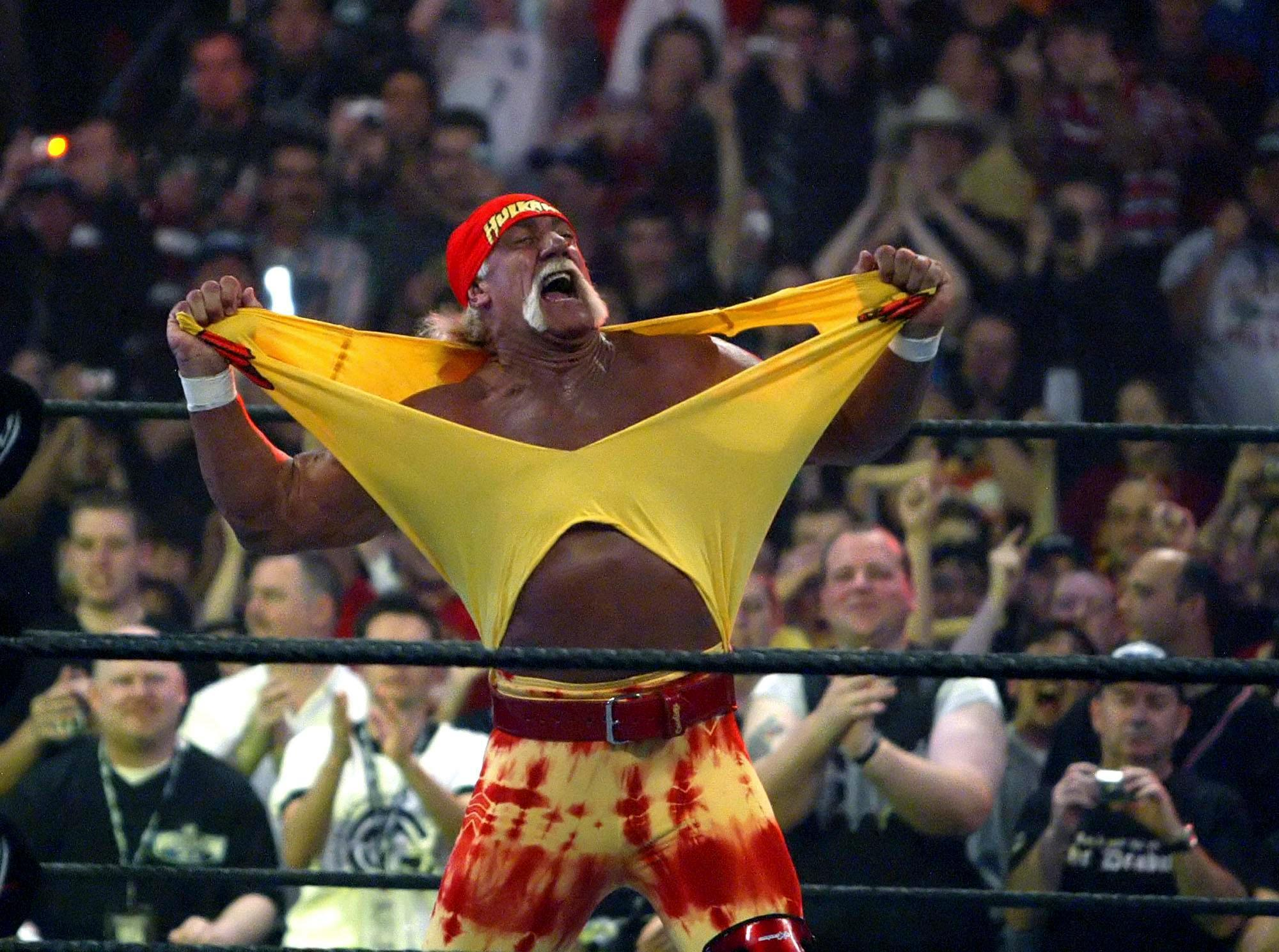 WWE confirms talks with Hulk Hogan over shock return to company at the age of 64 following race shame