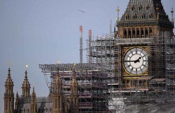 Parliament bosses spent whopping £5,000 of taxpayers cash on changing clocks