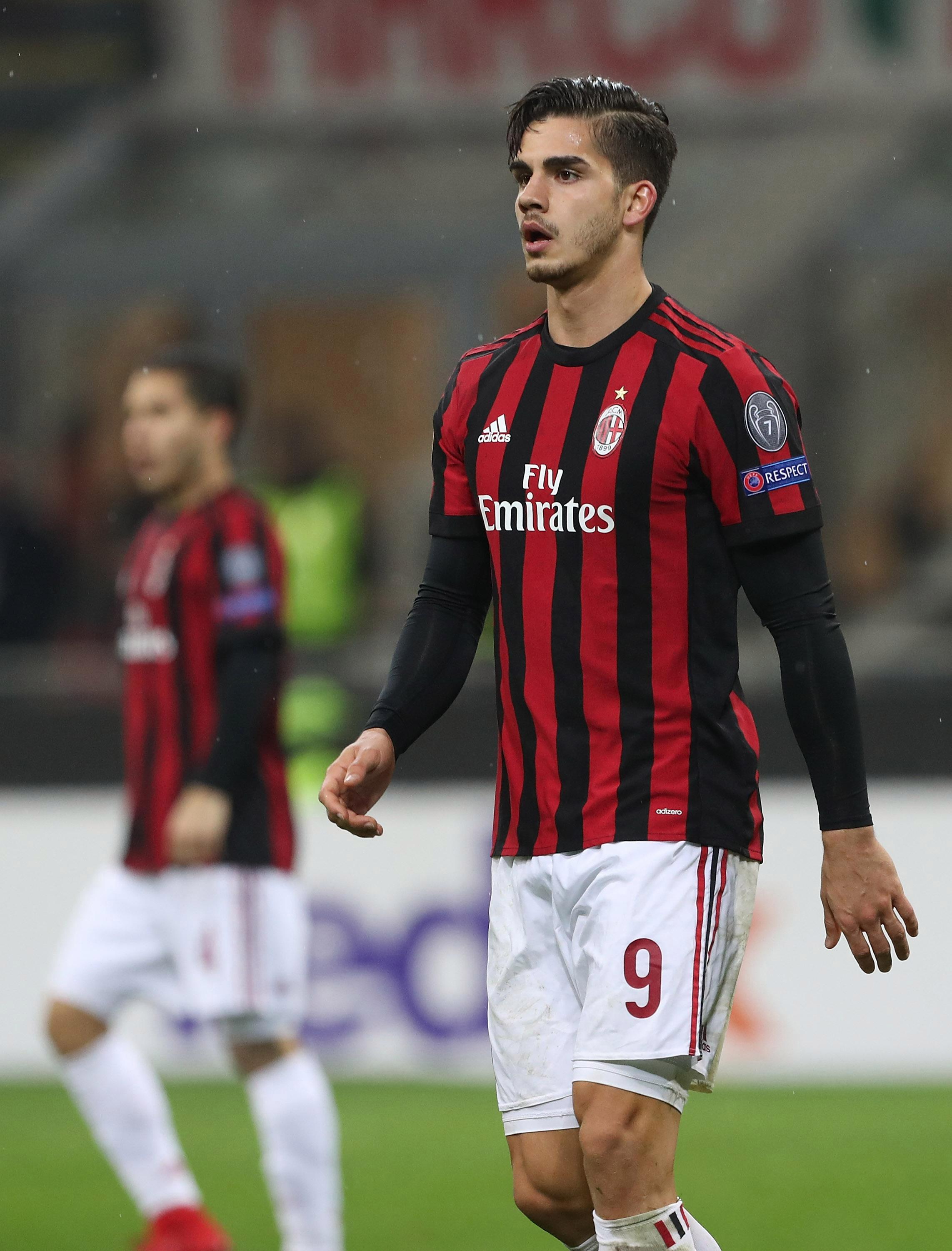 AC Milan striker Andre Silva linked with AS Monaco, Wolves