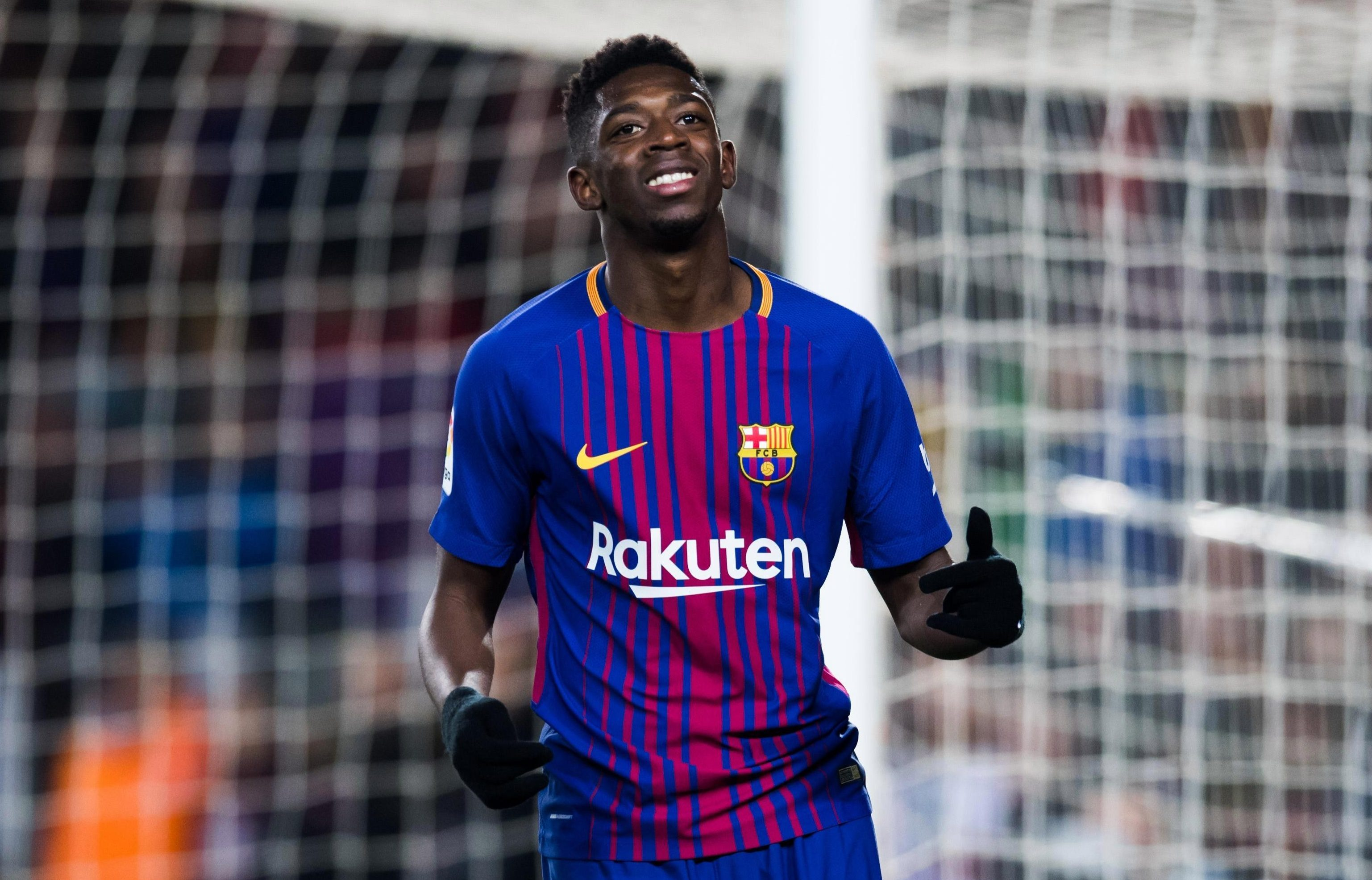 Barcelona have no worries about Ousmane Dembele's fast-food diet, insists boss Ernesto Valverde