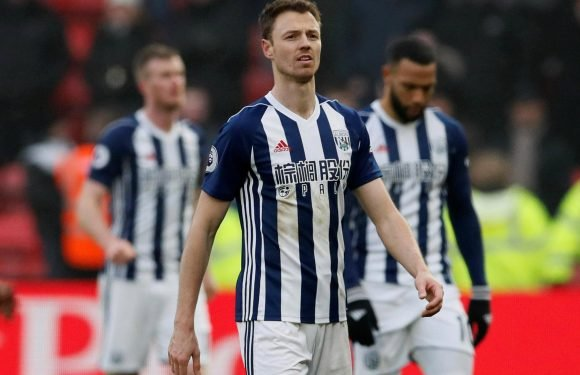 Tottenham are reportedly considering triggering Jonny Evans £3m release clause if West Brom are relegated