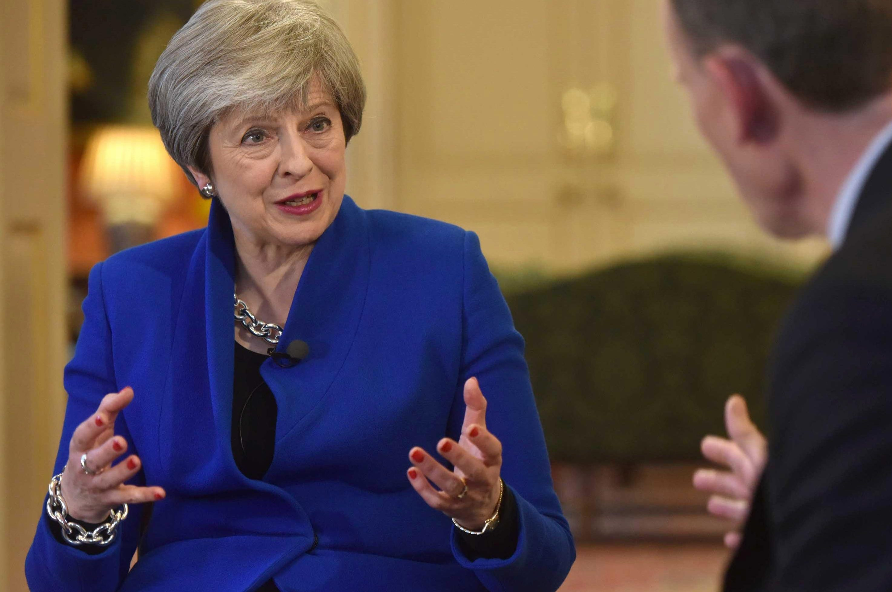 Theresa May says 'it's important to be straight with people' as she defends her blunt 'Road to Brexit' speech