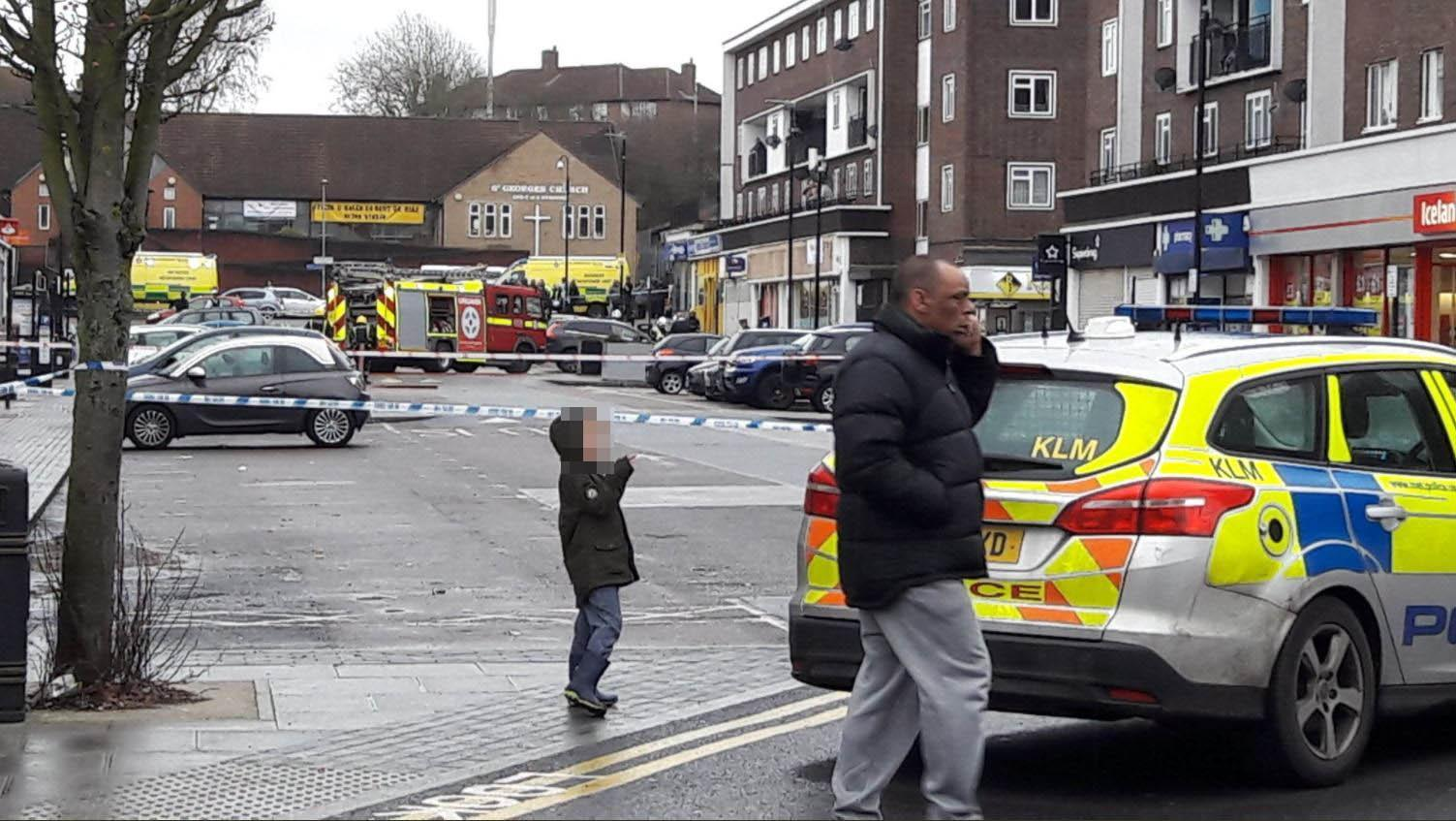 Harold Hill explosion sees police and fire crews race to scene of blast in north-east London