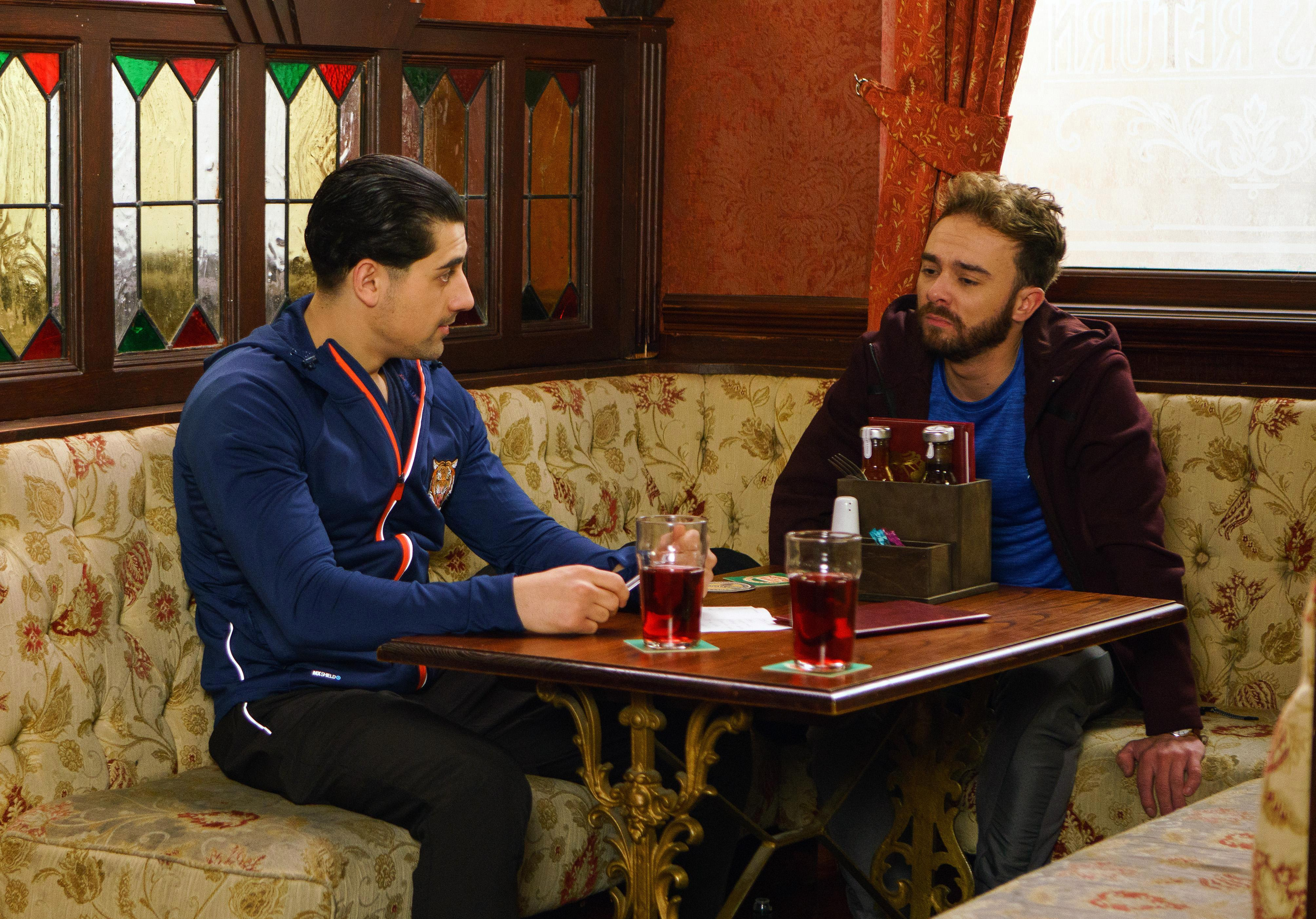 Coronation Street's Josh Tucker will manipulate David Platt after raping him and refuse to leave Weatherfield