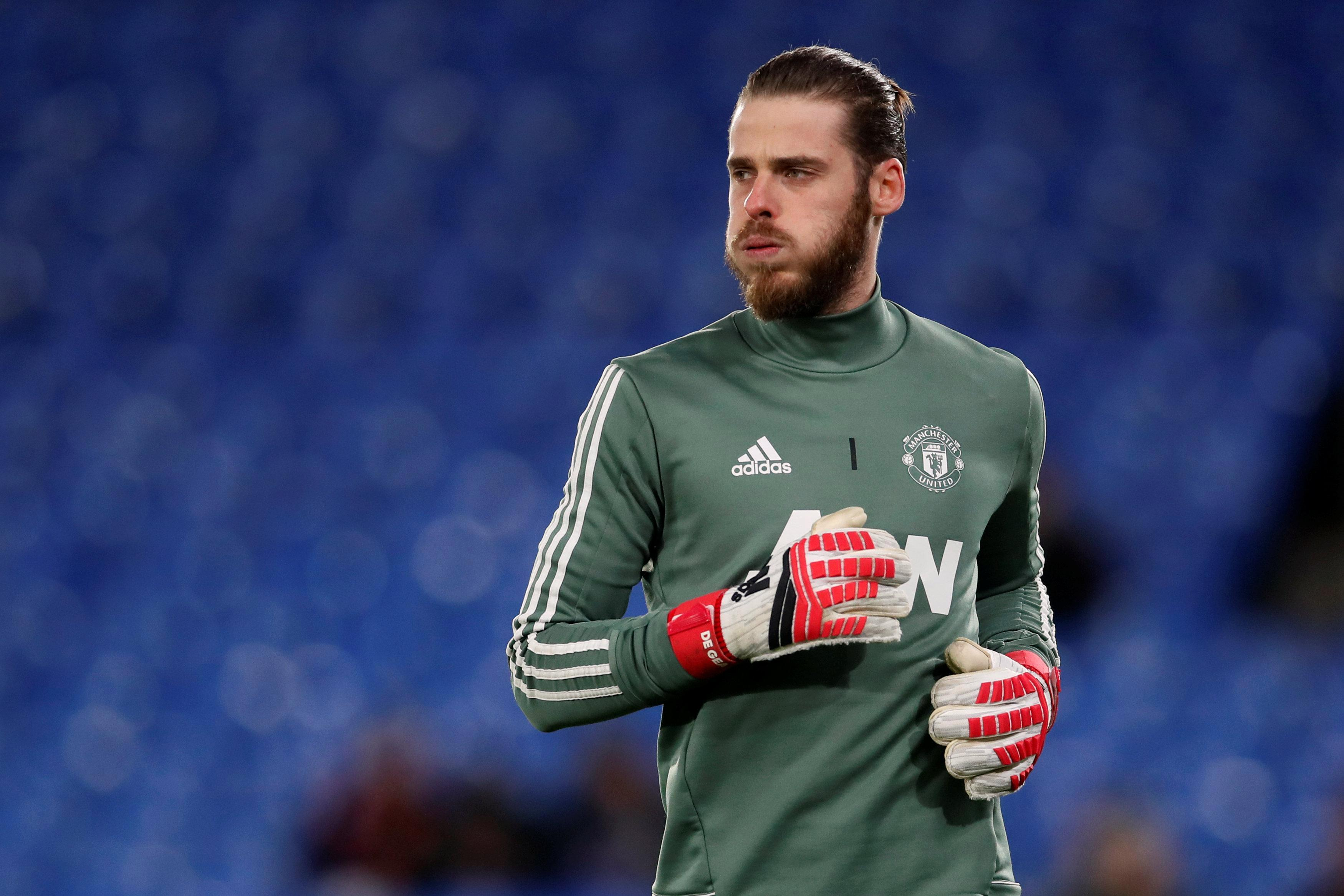 David De Gea 'still waiting on new Manchester United contract' despite being their best player this season as he falls down high-earners list at Old Trafford