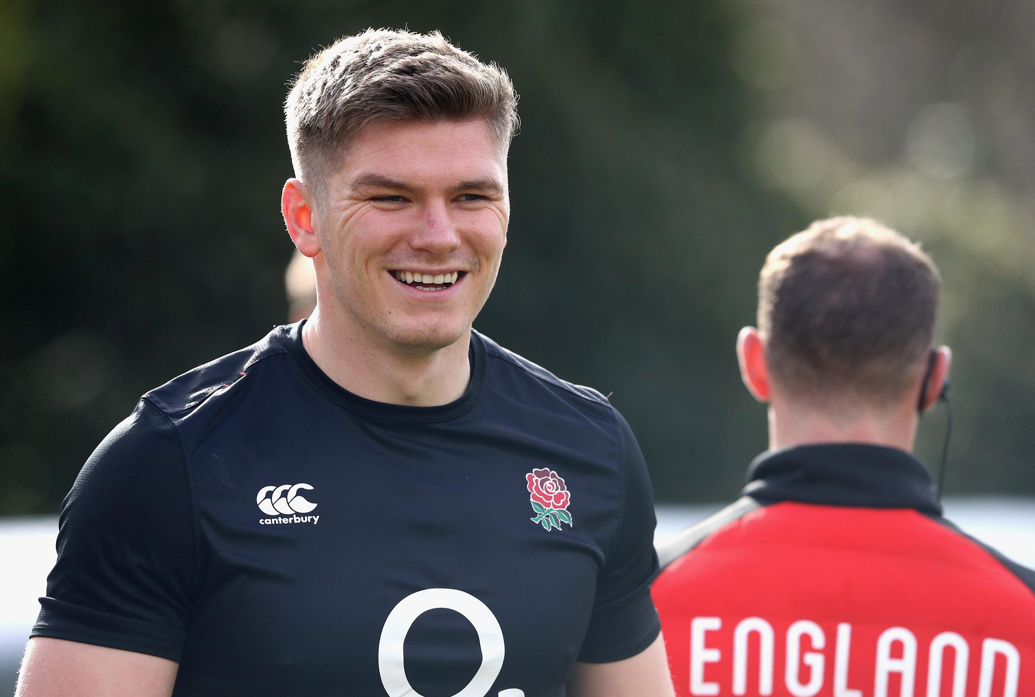 Six Nations 2018: Eddie Jones tells Owen Farrell he must get in the faces of France players… but not the referee!