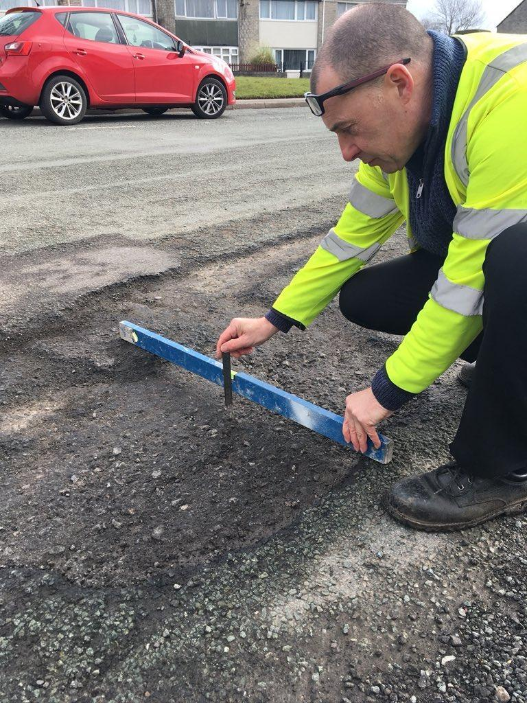 Cheshire West and Chester council mocked after tweet showing how highways team fixes potholes completely backfires