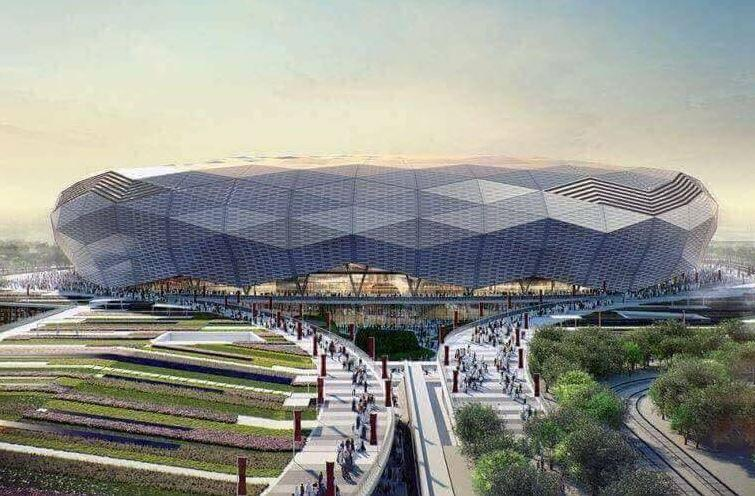 Biggest stadium in world with capacity of 135,000 to be built in Iraq as a present from Saudi Arabia's king