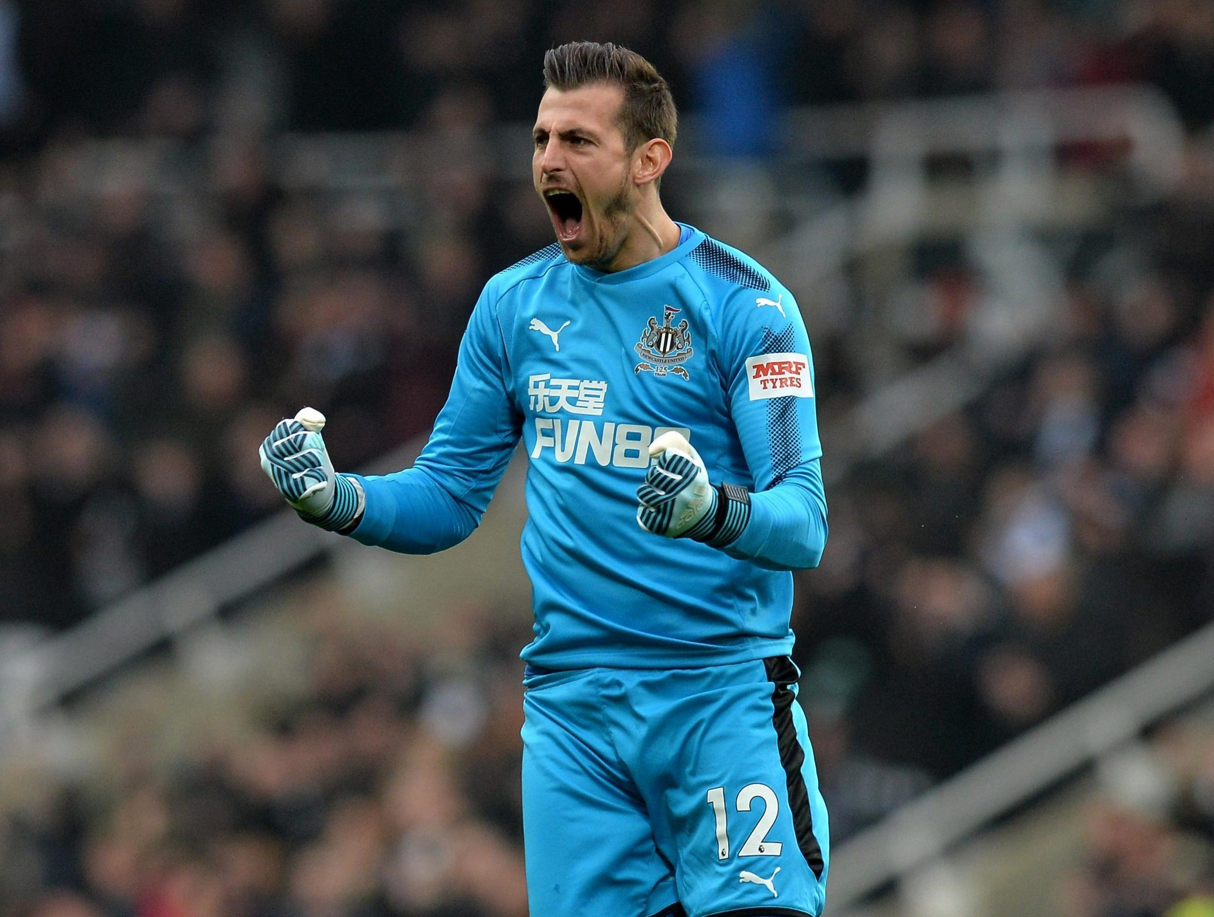 Martin Dubravka says Newcastle future depends on Rafa Benitez's side staying in the Premier League
