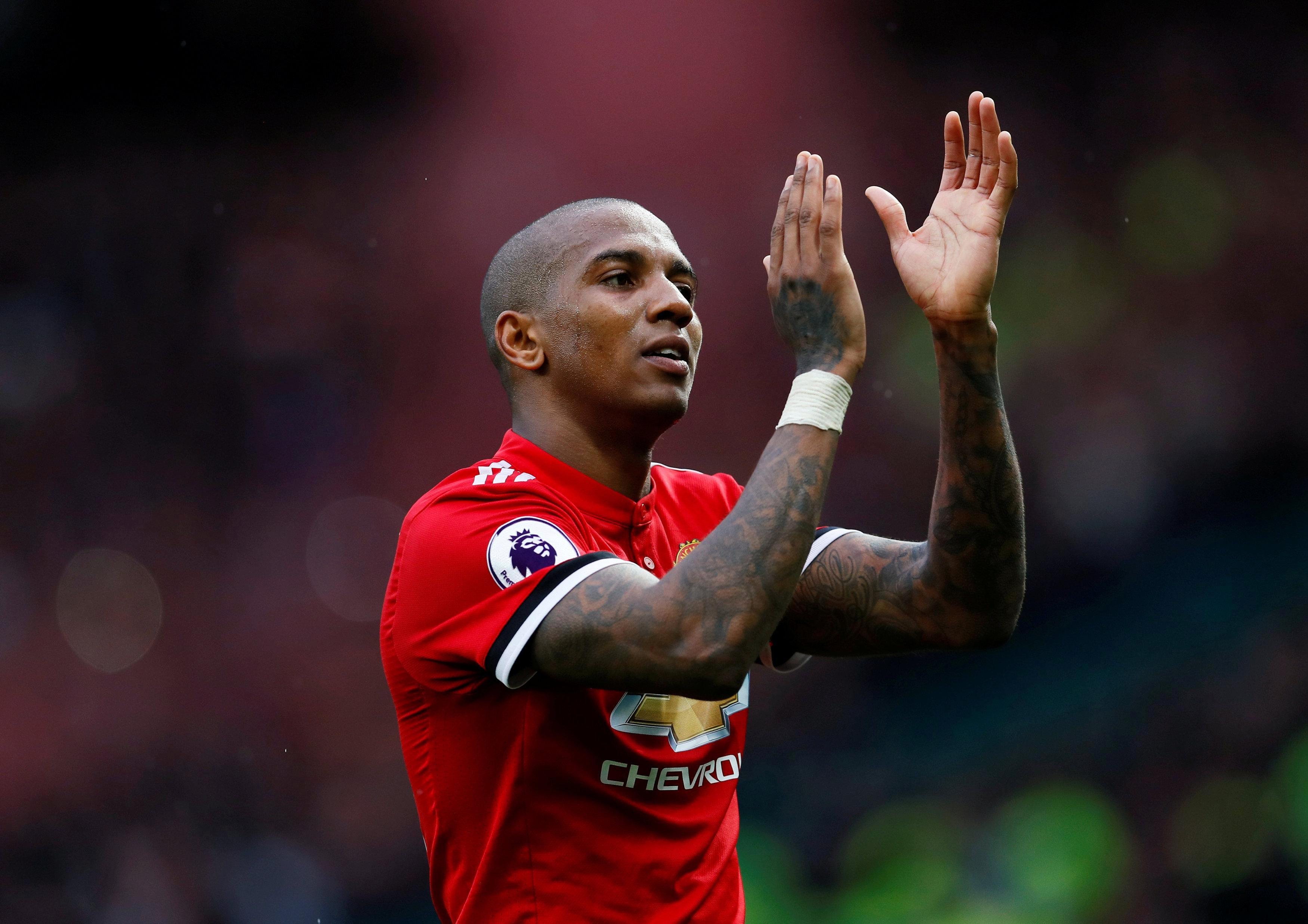 Manchester United trigger Ashley Young's one-year contract extension with defender set to stay another season at Old Trafford