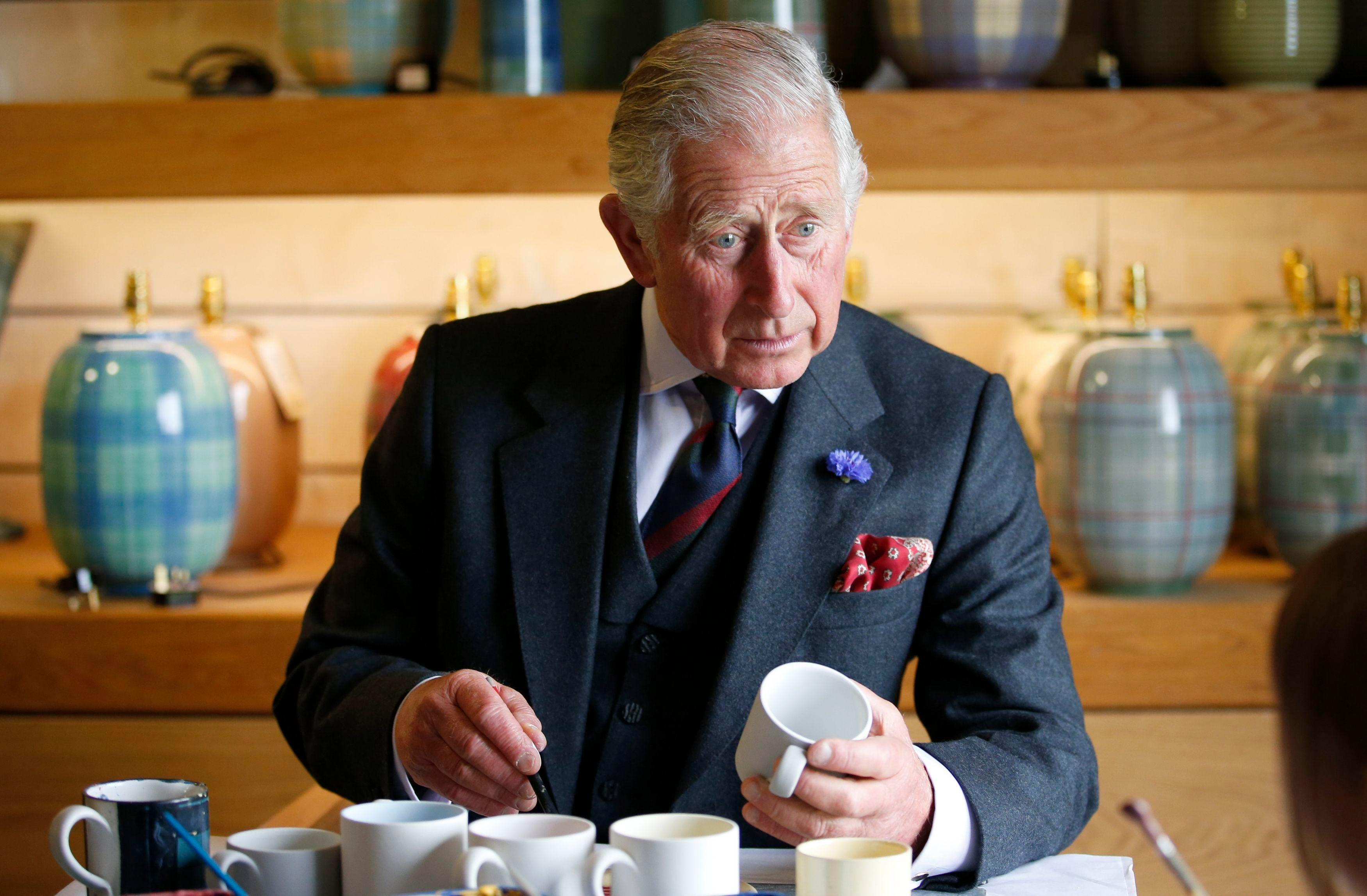 Prince Charles brings his own TOILET SEAT with him on Royal trips, new biography claims