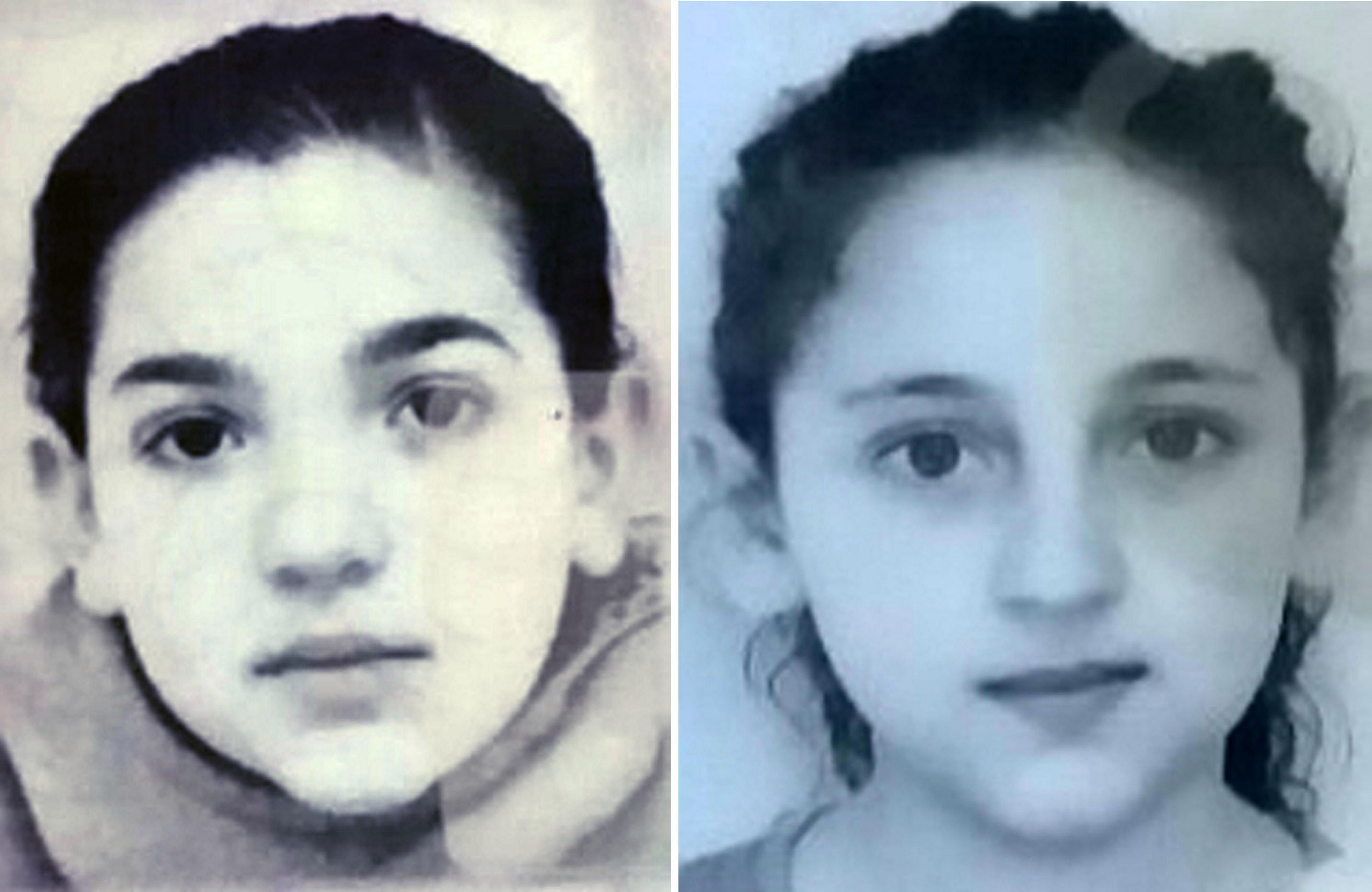 Fears for missing sisters, 12 and 11, who haven't been seen in five days since disappearing in West Yorkshire