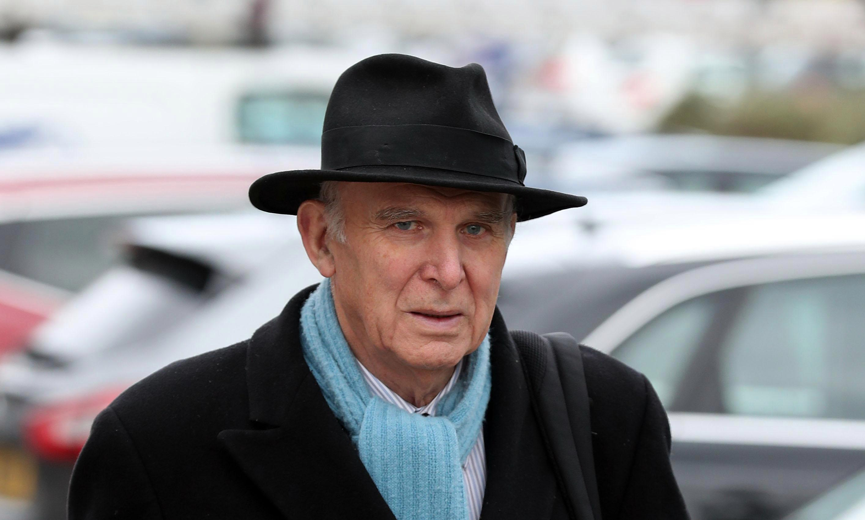Fury as Vince Cable claims Brexit voters only want to quit EU because they want UK to be whiter
