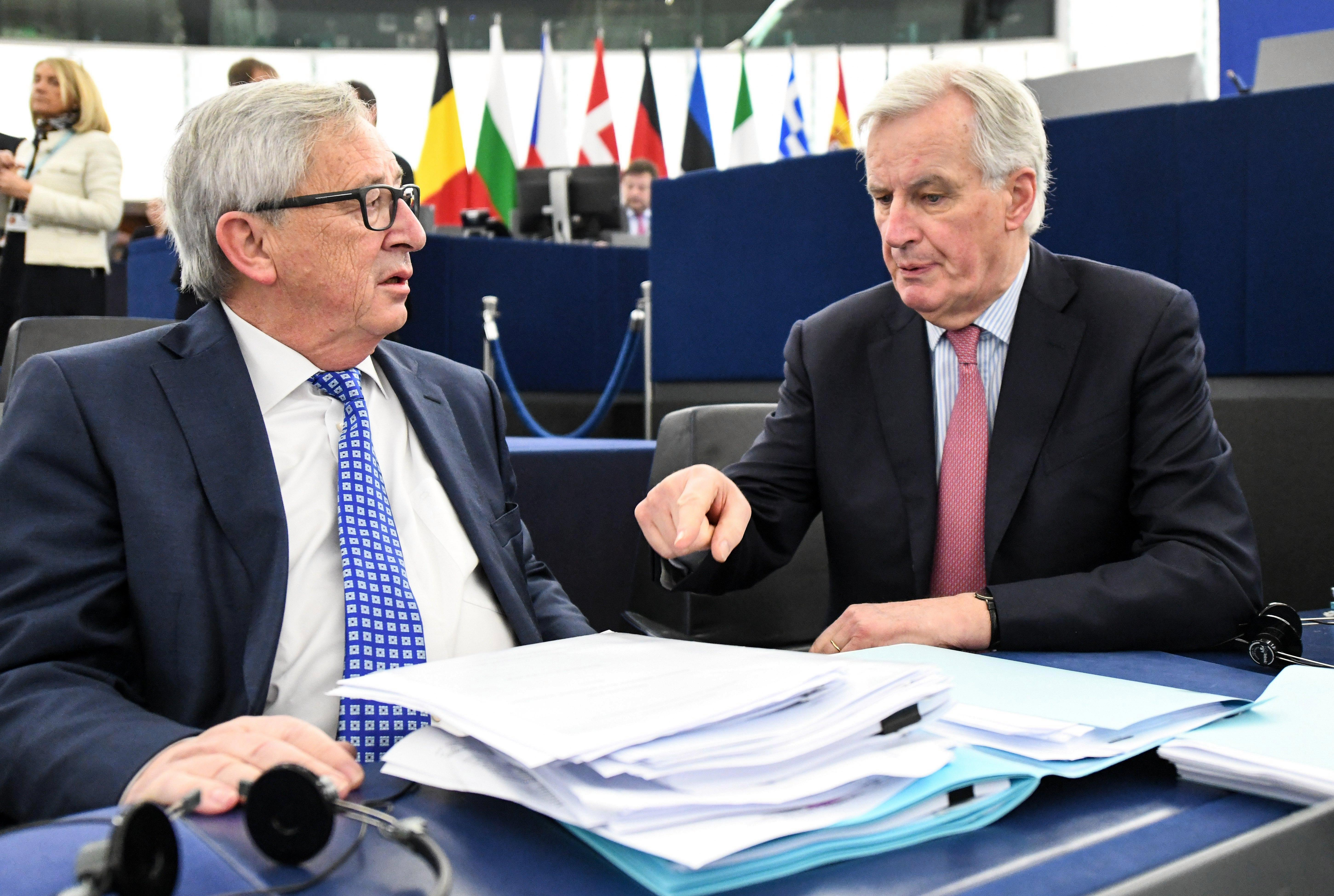 Britain will not stop handing Brussels cash until 2064 as Philip Hammond reveals Brexit deal means we will keep paying into EU pension pots for another 45 YEARS