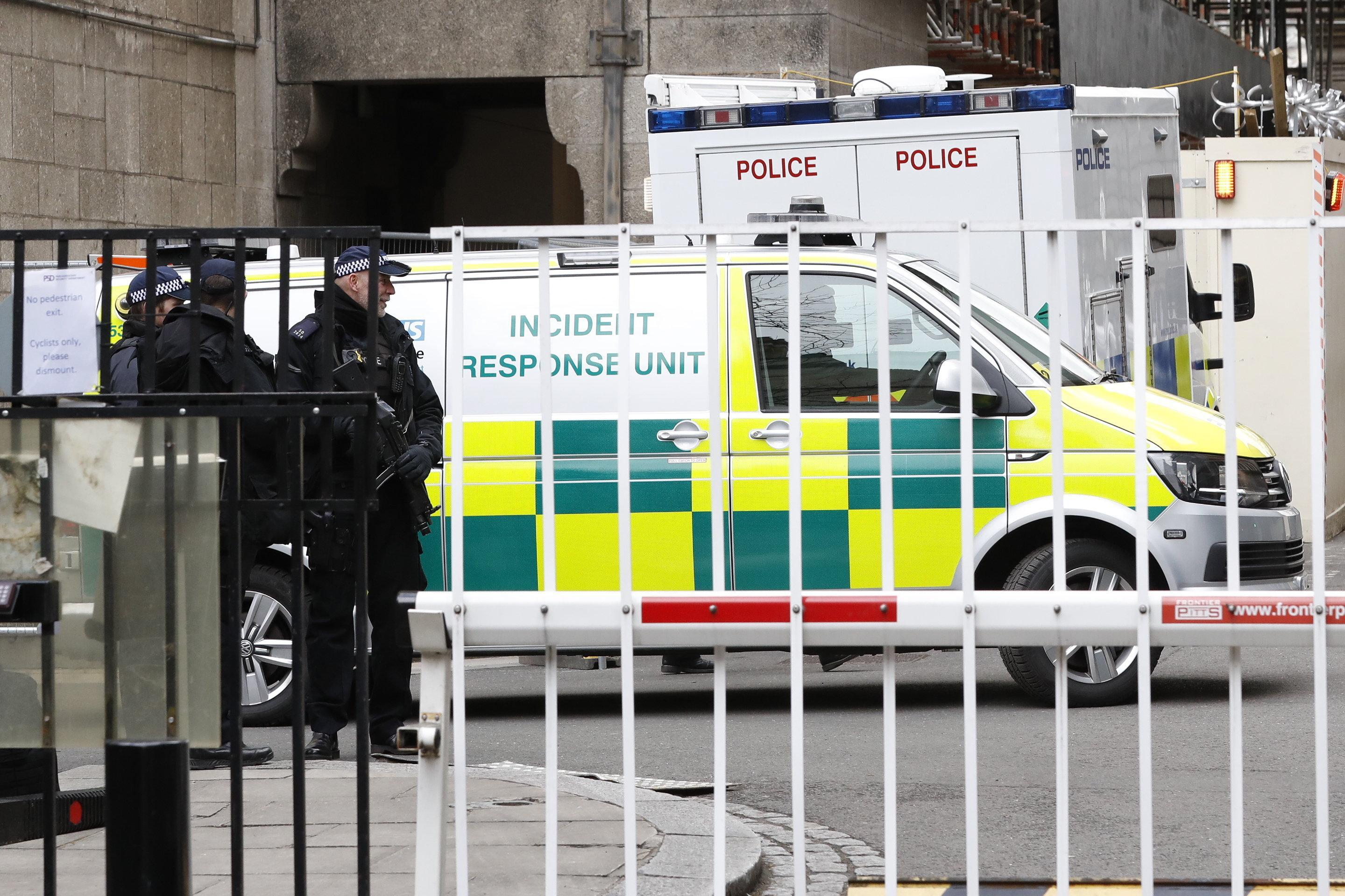 Parliament call in police again after MPs are sent FOUR suspicious packages in just 24 hours – but none were dangerous