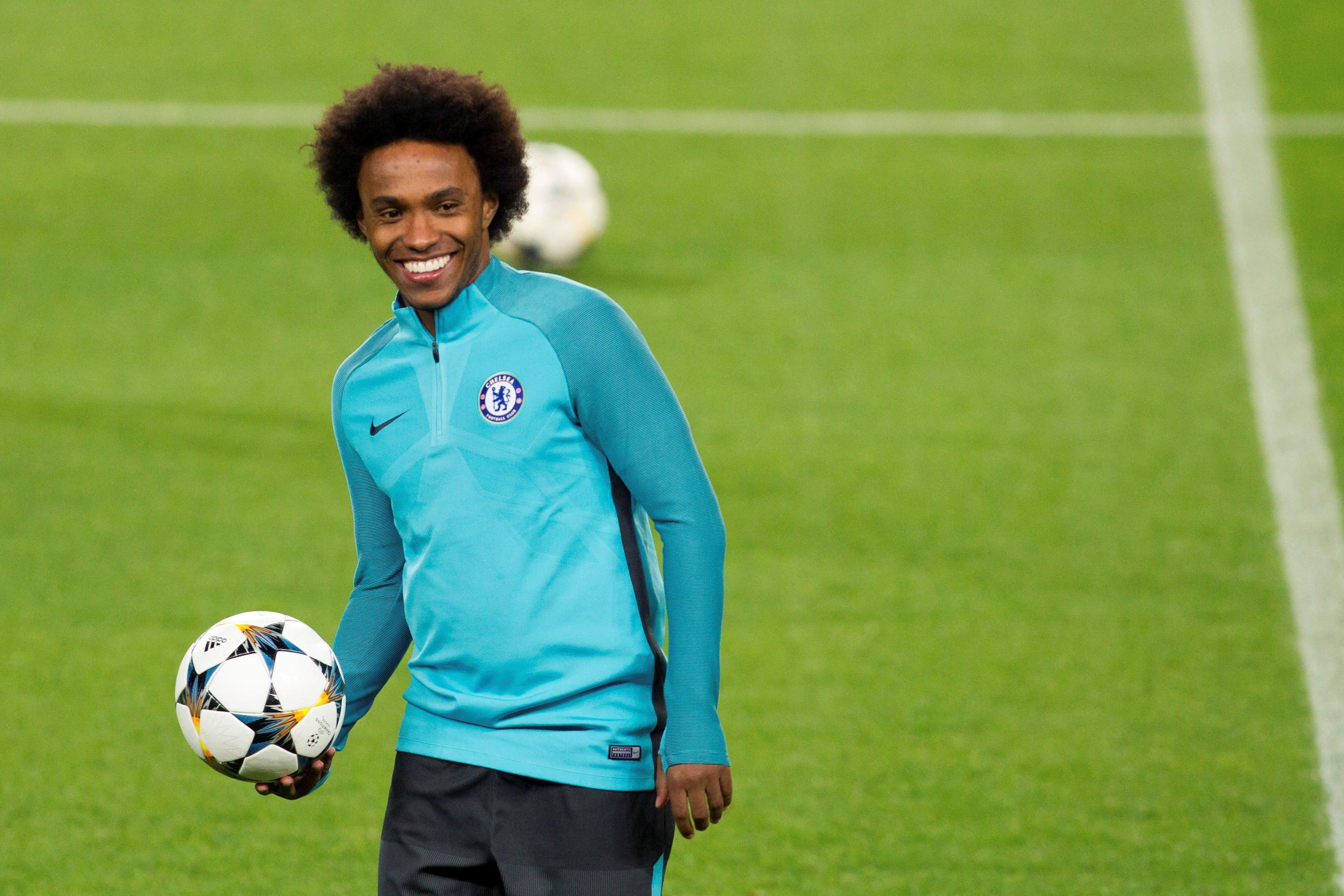 Manchester United boss Jose Mourinho wants £60million Chelsea star Willian this summer
