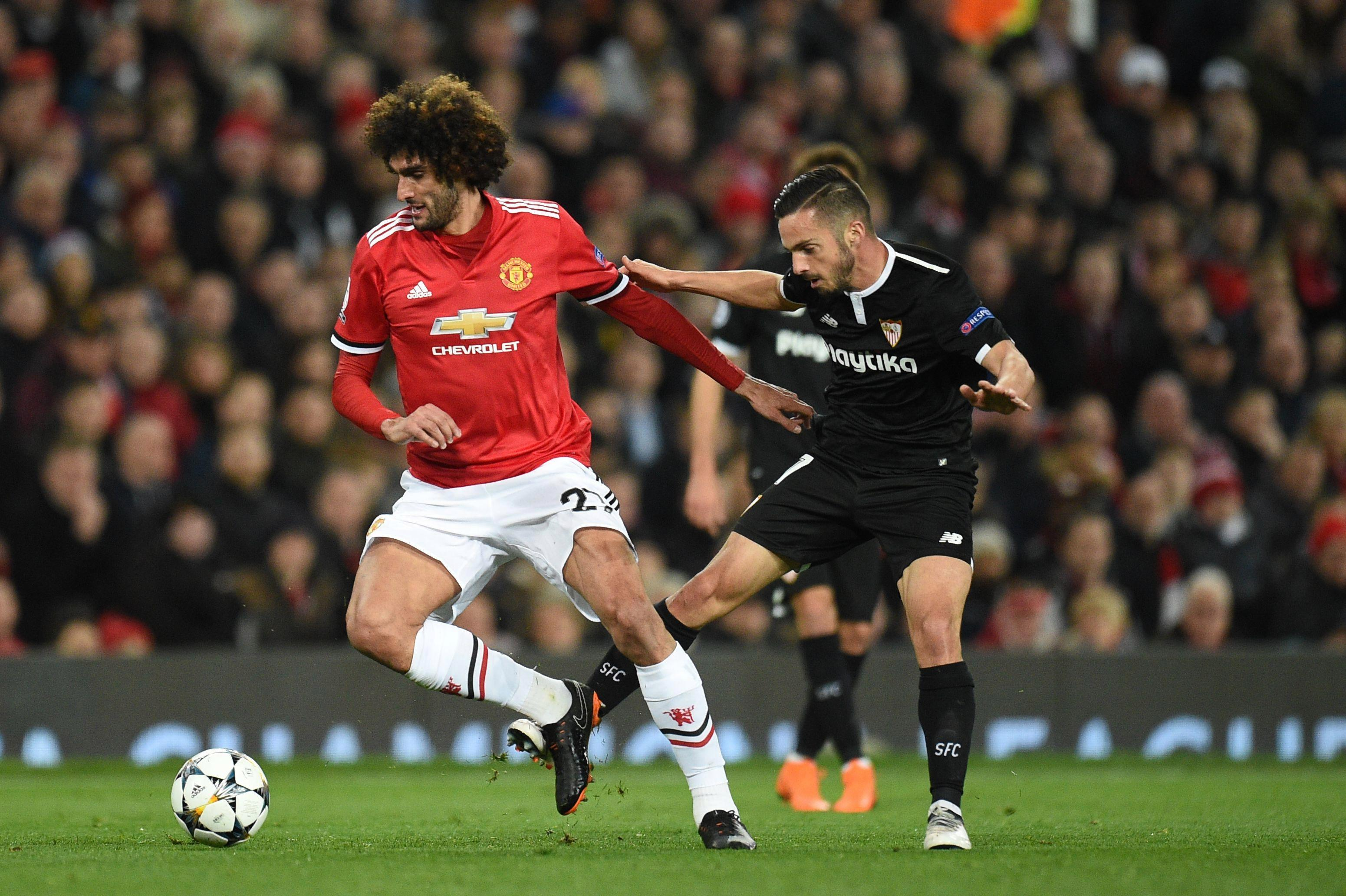 Marouane Fellaini is not a Manchester United player and Jose Mourinho's decision to start him against Sevilla backfired