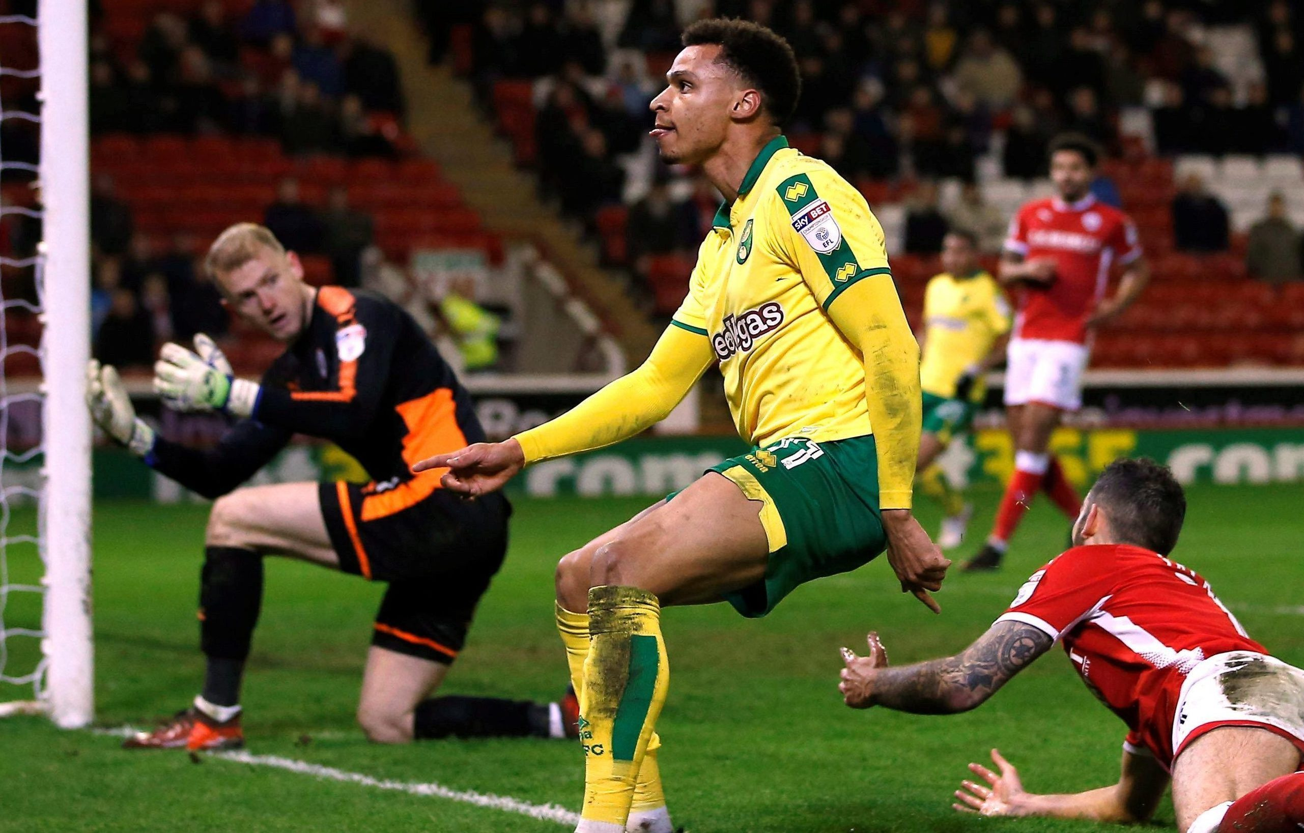 Barnsley 1 Norwich 1: Josh Murphy cracker saves Canaries after Oli McBurnie keeps up hot streak for lowly Tykes